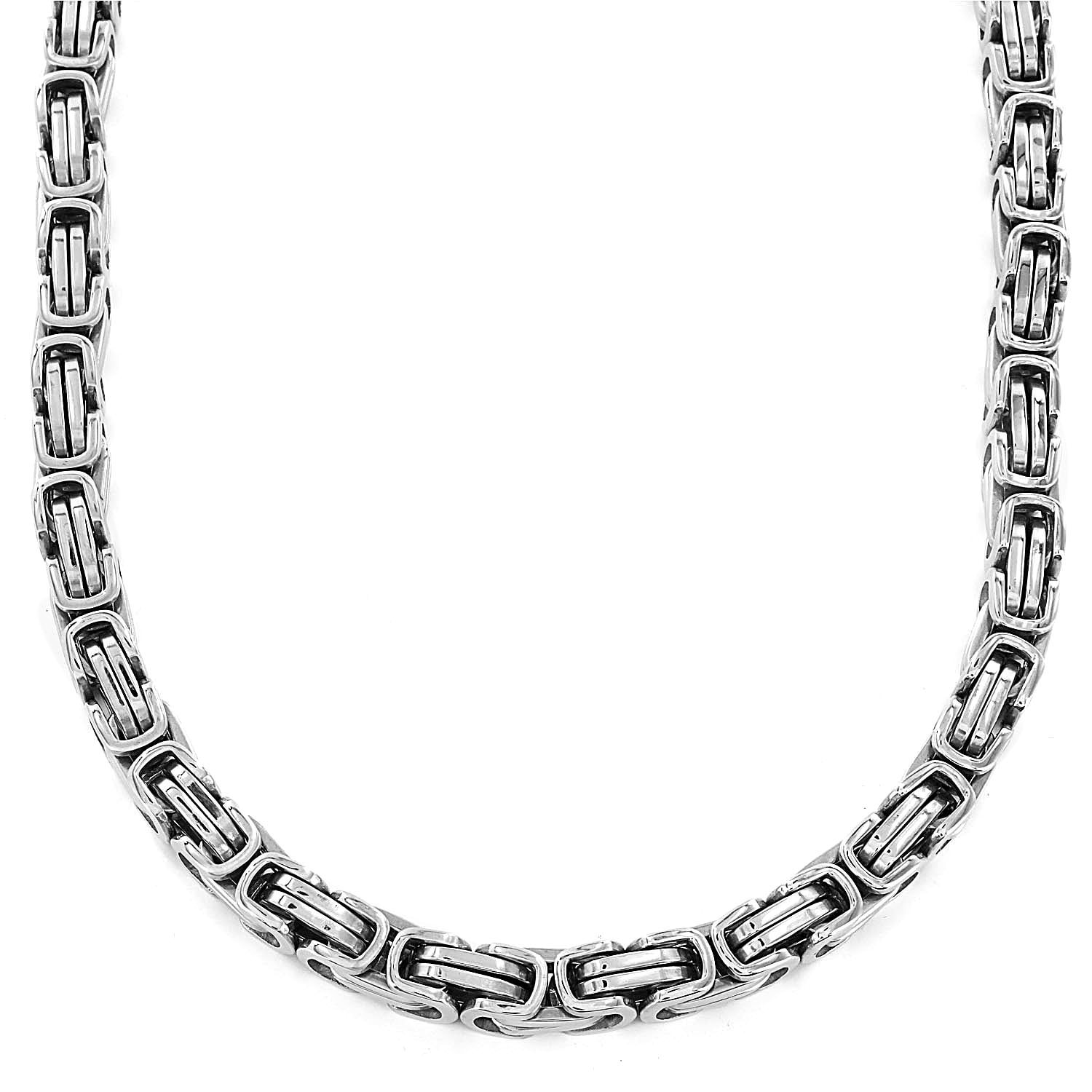 chain silver sterling products byzantine necklace jaebee