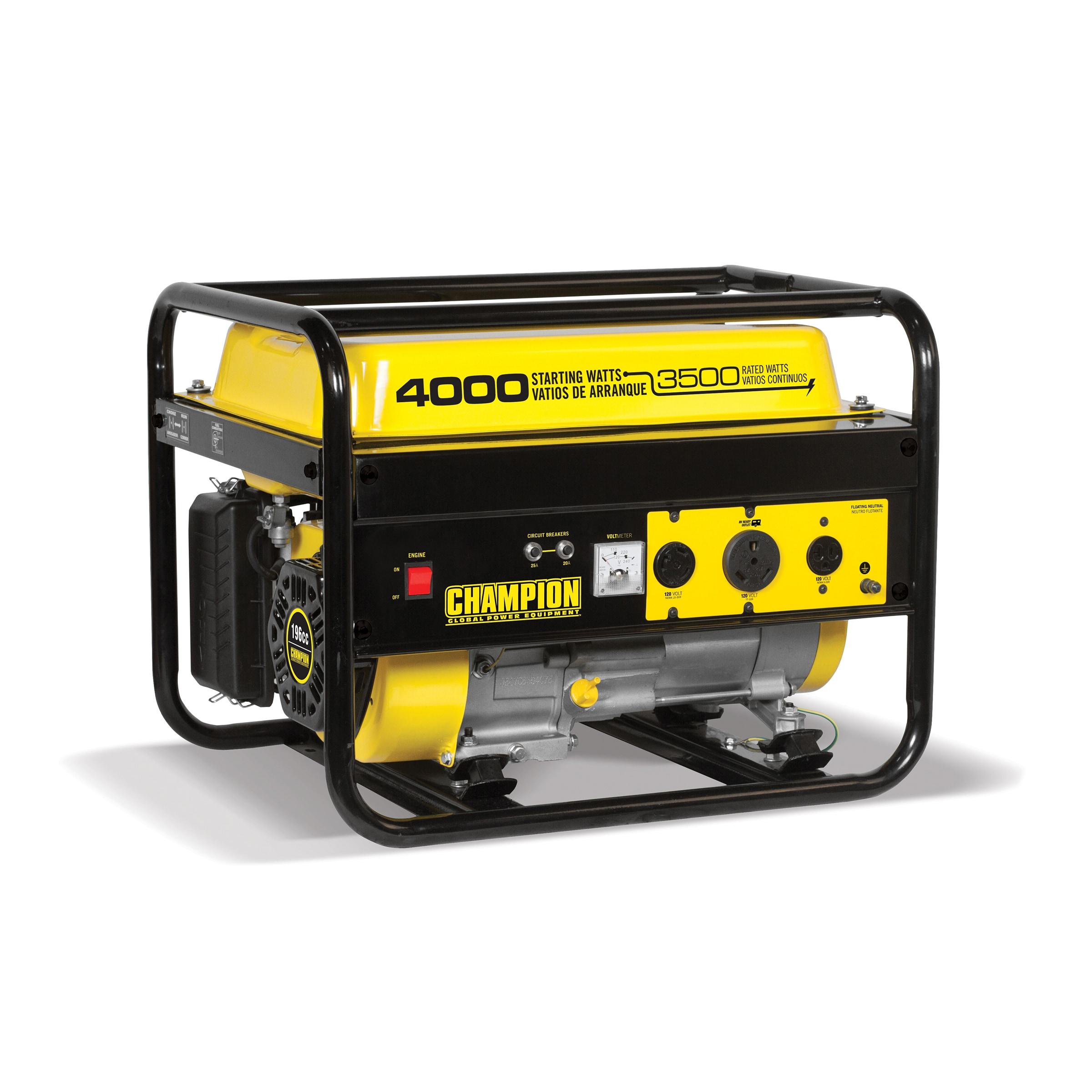 Champion Generator Wiring 4000 Diagram Sidecar Shop 3500 Watt Rv Ready Portable Epa Free