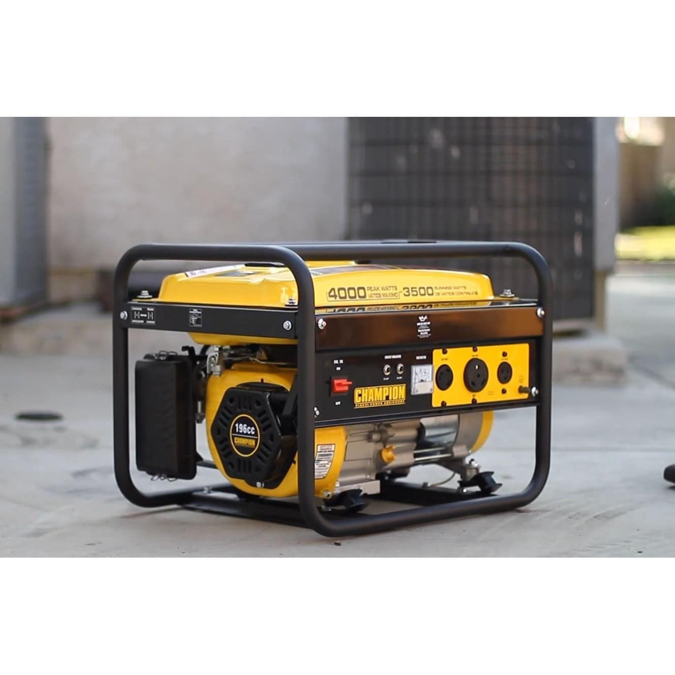 Shop Champion 3500 Watt Rv Ready Portable Generator Epa Free 4000 Wiring Shipping Today 7318195