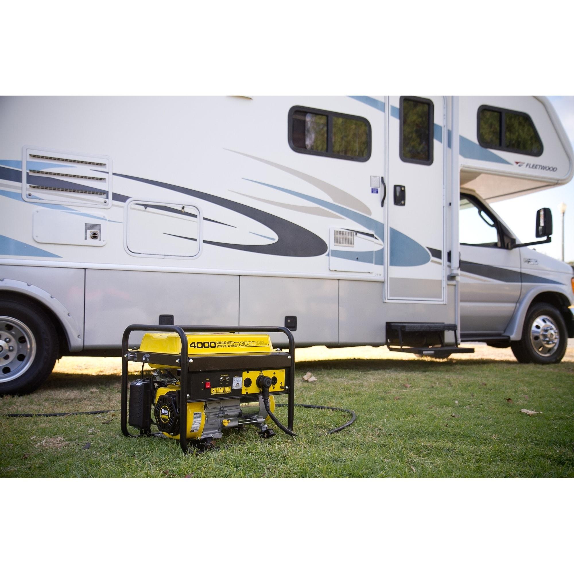Champion 3500 Watt RV Ready Portable Generator EPA Free