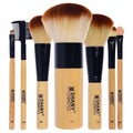 SHANY 7-piece Bamboo Brush Set