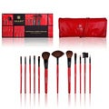 Shany Professional Cosmetic Brush 13-piece Set with Pouch
