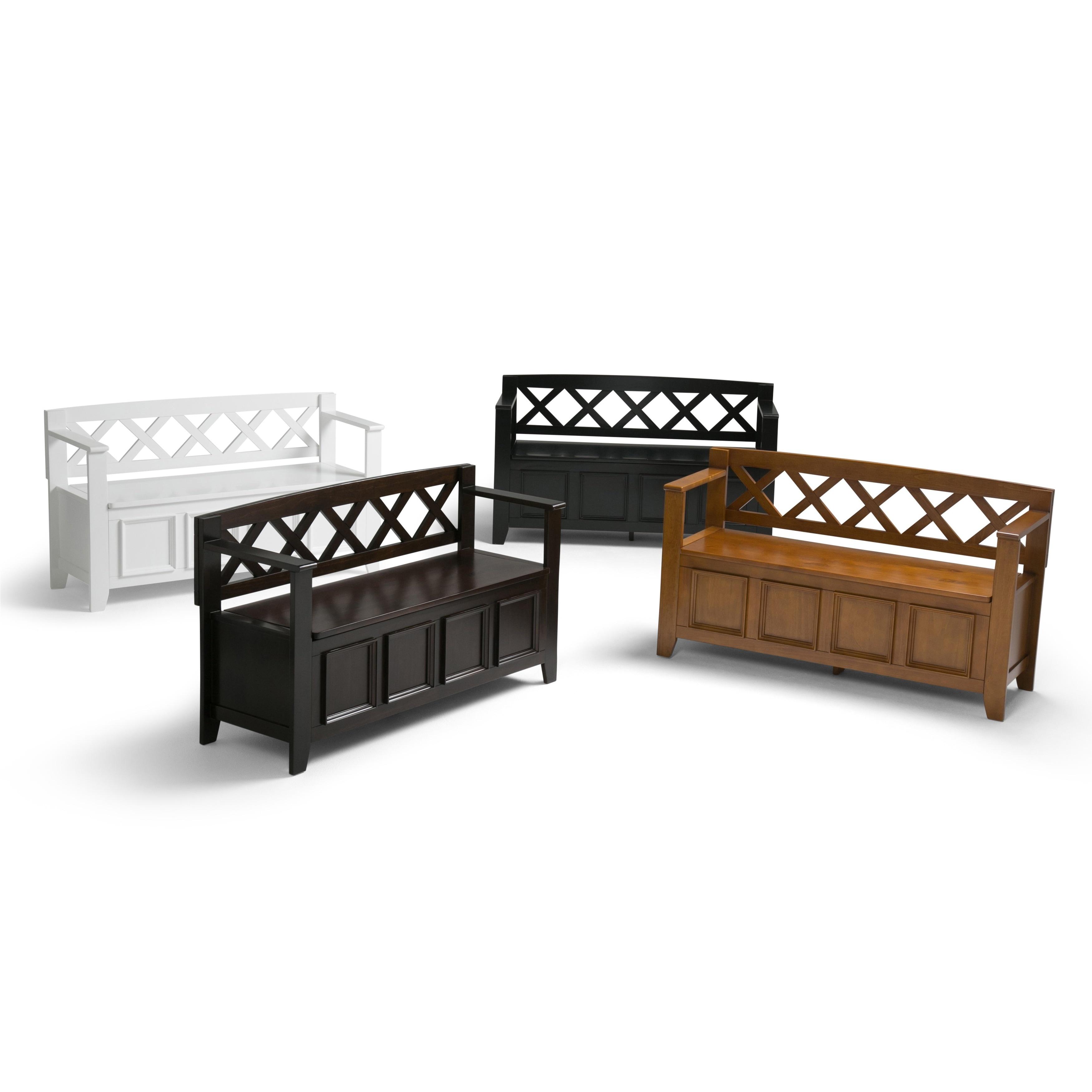 WYNDENHALL Halifax Entryway Storage Bench - Free Shipping Today ...