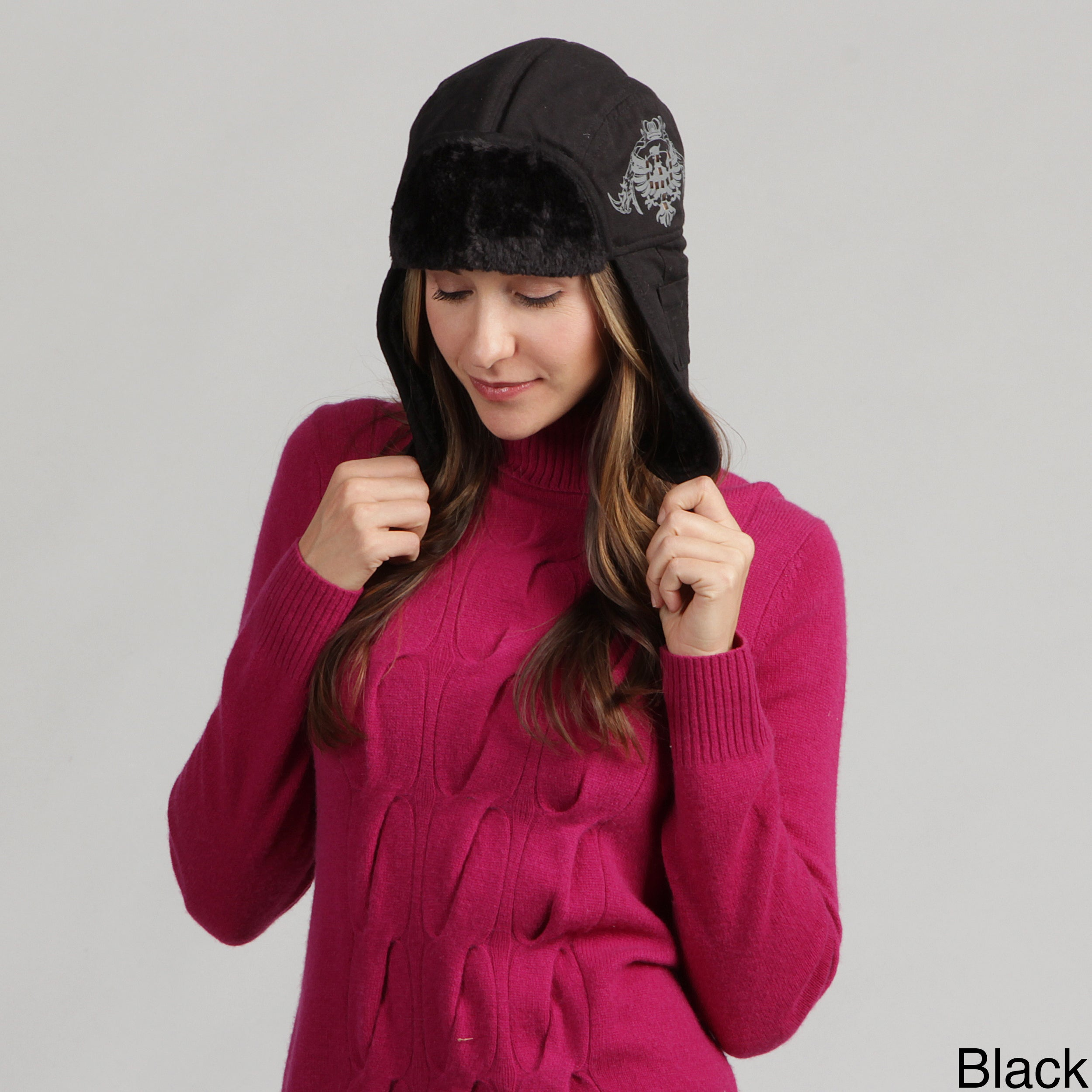 e64f7c71 Shop David and Young Women's Faux Fur Aviator Trapper Hat - Free Shipping  On Orders Over $45 - Overstock - 7344721