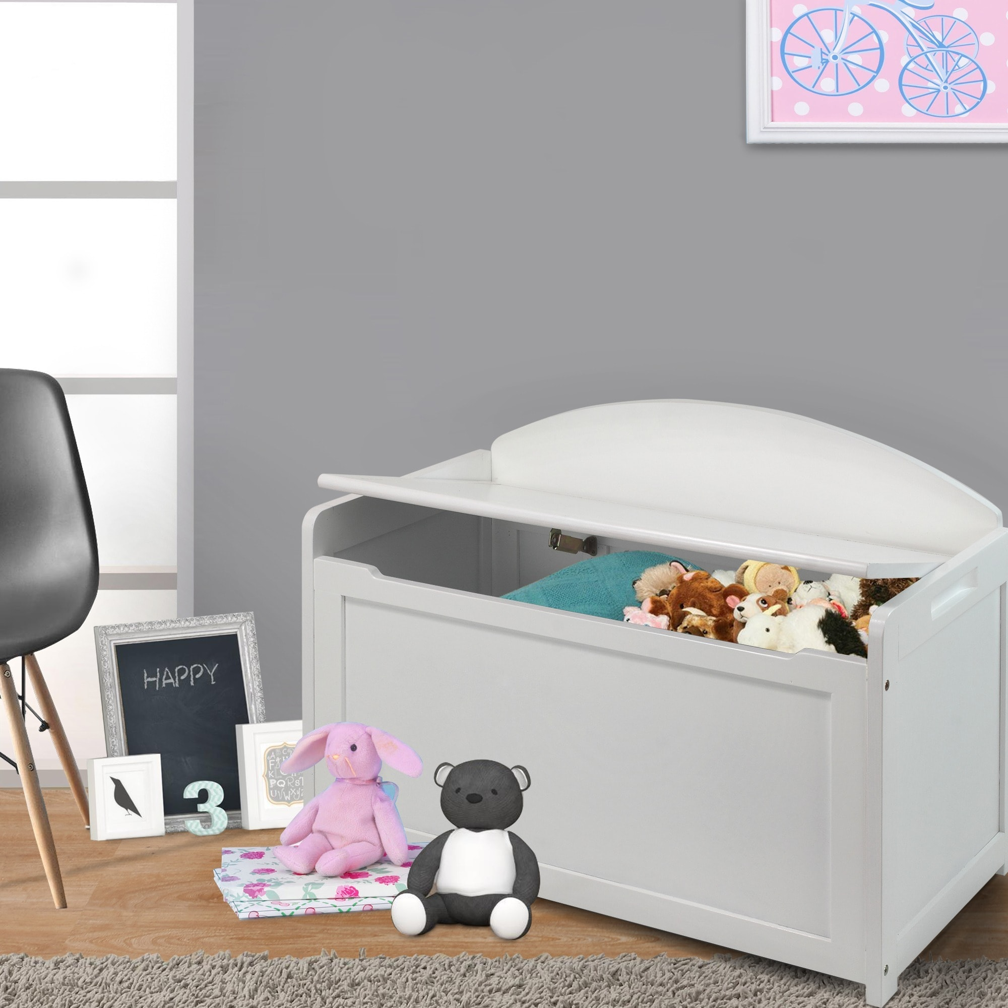 Shop Kids Toy Box Free Shipping Today Overstock