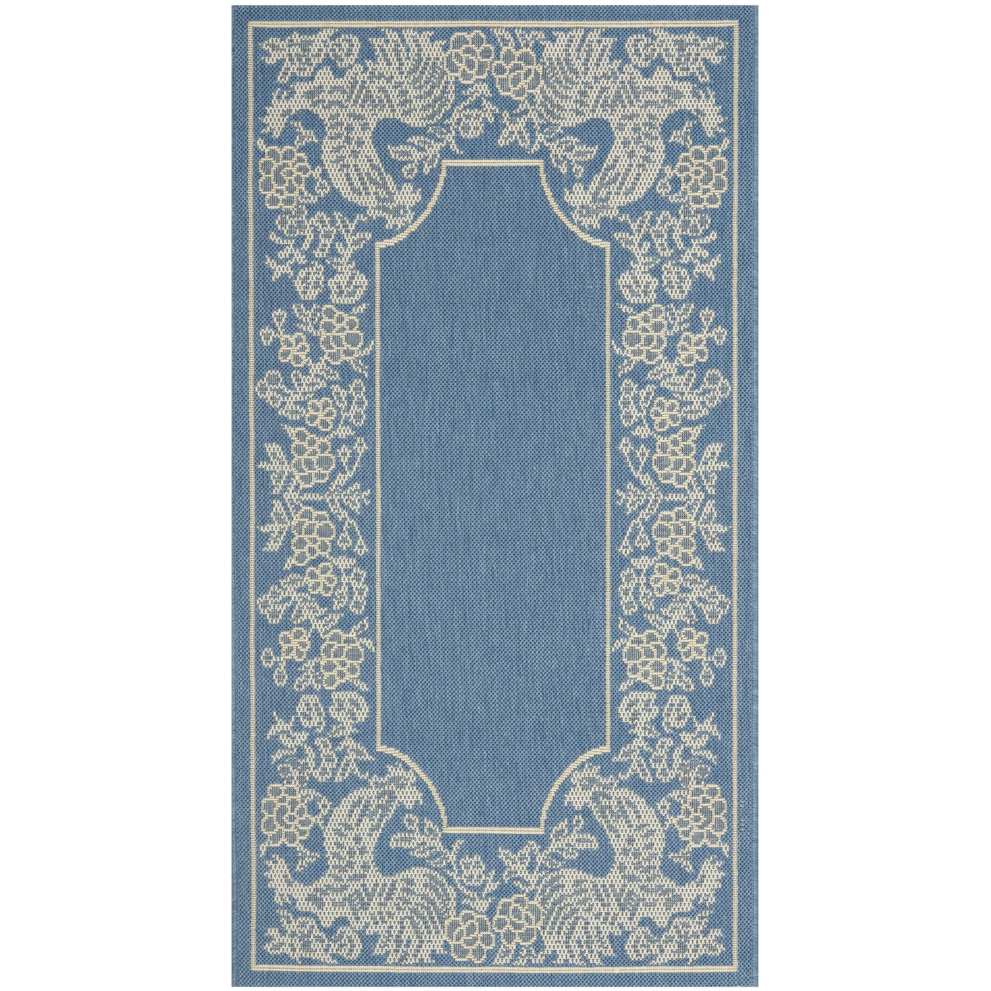 Safavieh Rooster Blue Natural Indoor Outdoor Rug Free Shipping