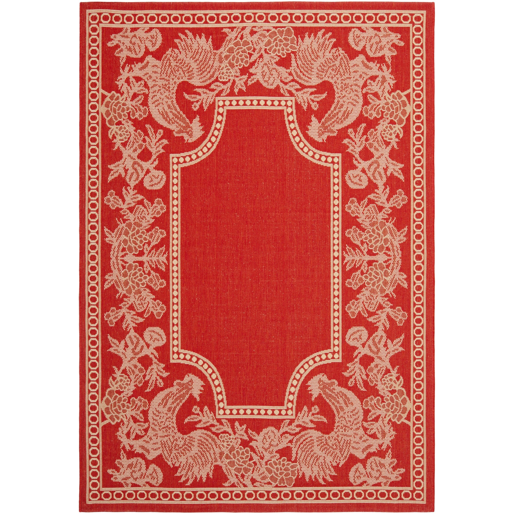Safavieh Rooster Red Natural Indoor Outdoor Rug Free Shipping