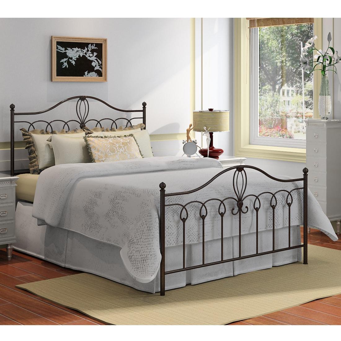 Shop Rebecca Metal Queen Size Bed