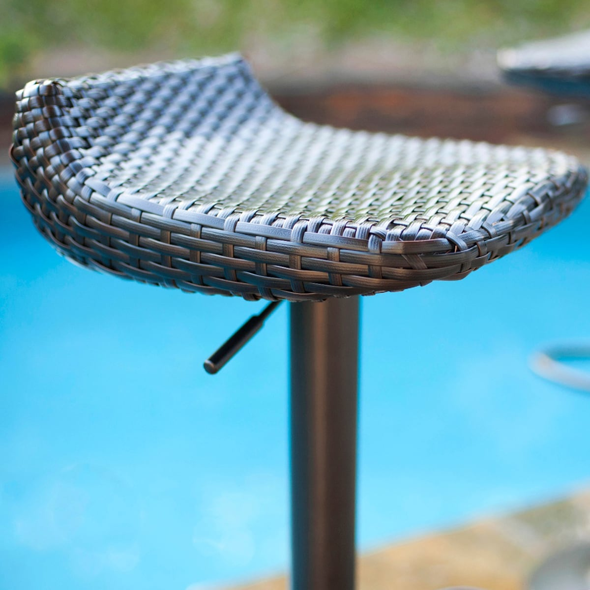 RST Brands Woven Wicker Barstools (Set of 2) - Free Shipping Today ...