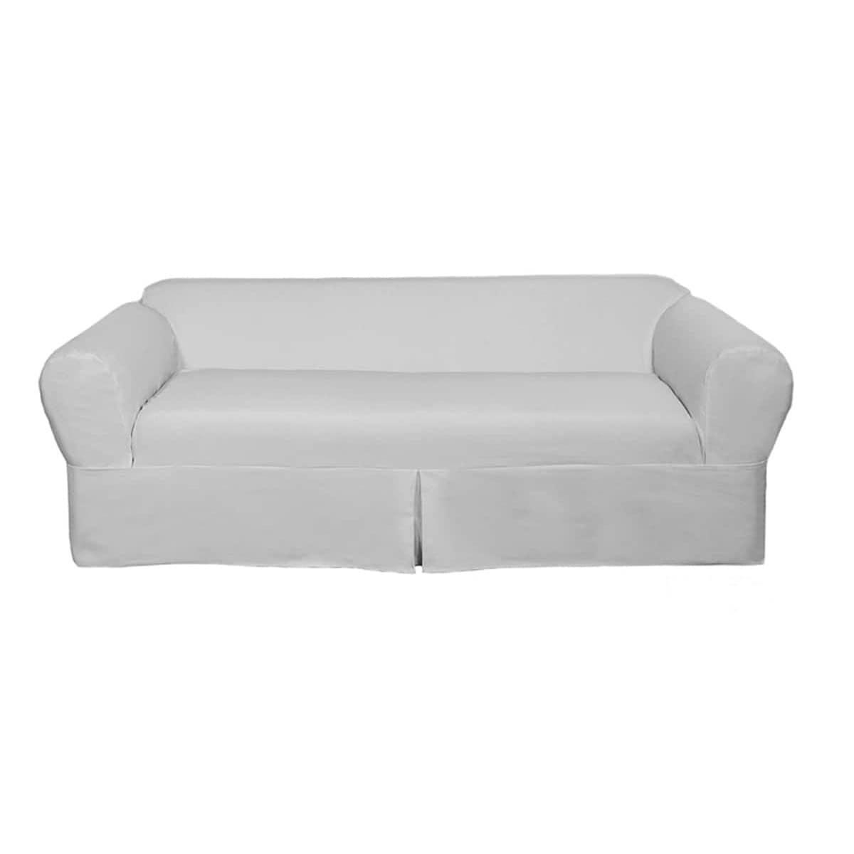 Merveilleux Shop Classic 2 Piece Twill Sofa Slipcover   Free Shipping Today    Overstock.com   7358756