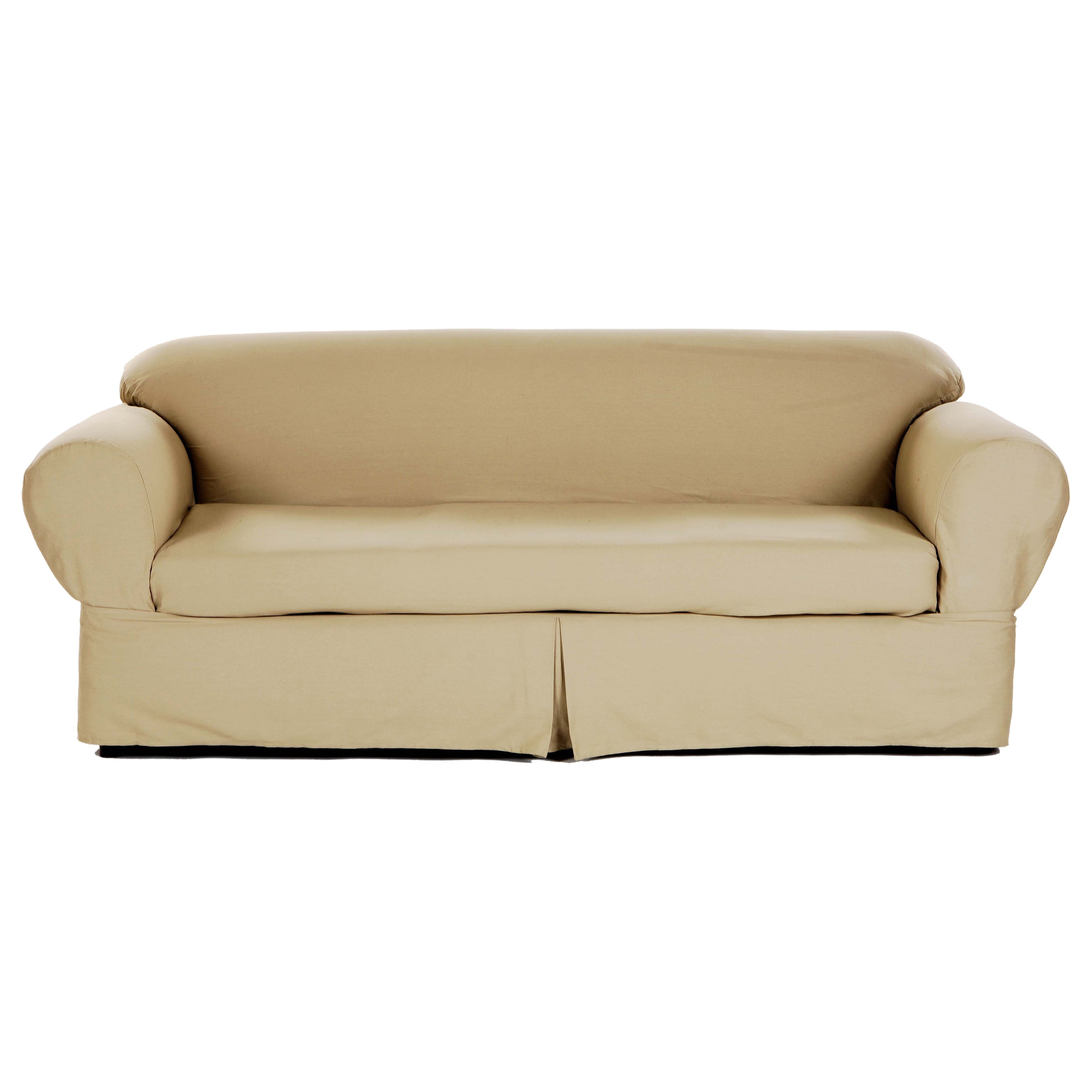 Gentil Shop Classic 2 Piece Twill Sofa Slipcover   Free Shipping Today    Overstock.com   7358756