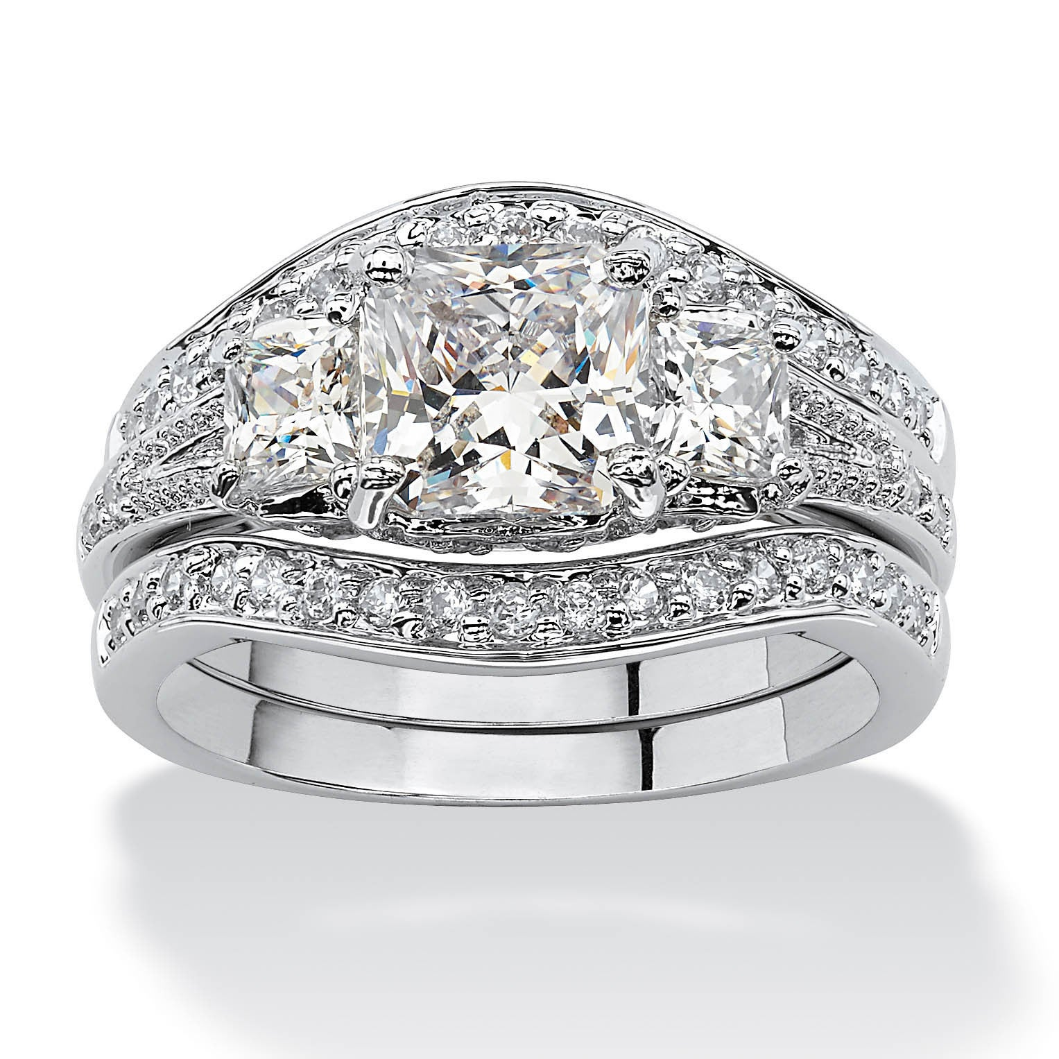 engagement wedding with magnificent and made to diamond kjeldsen platinum shoulders heidi jewellery order ring set