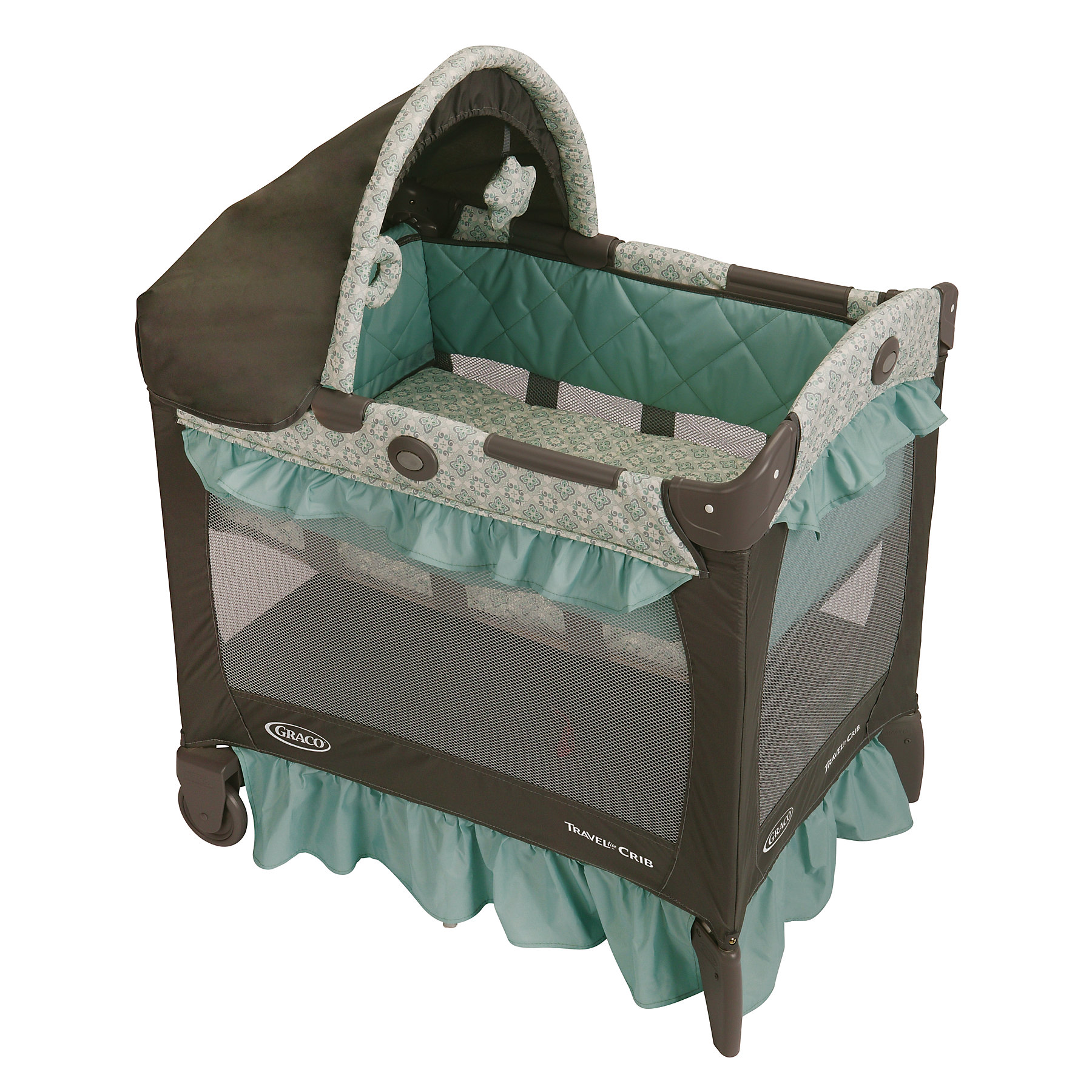 Shop Graco Winslet Travel Lite Crib Free Shipping Today
