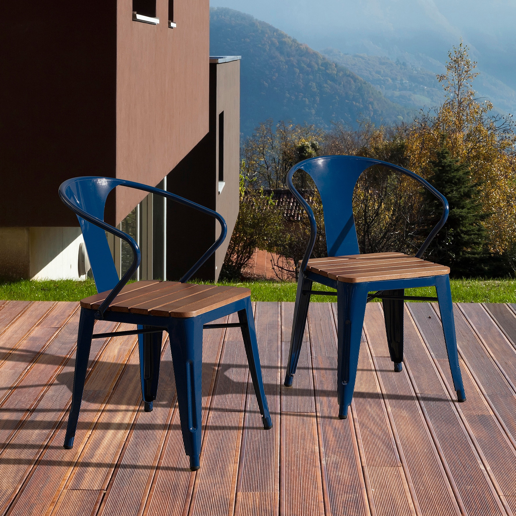 Carbon Loft Boyer Outdoor Chair Set Of 4 Free Shipping Today  # Table De Jardin Simply Market