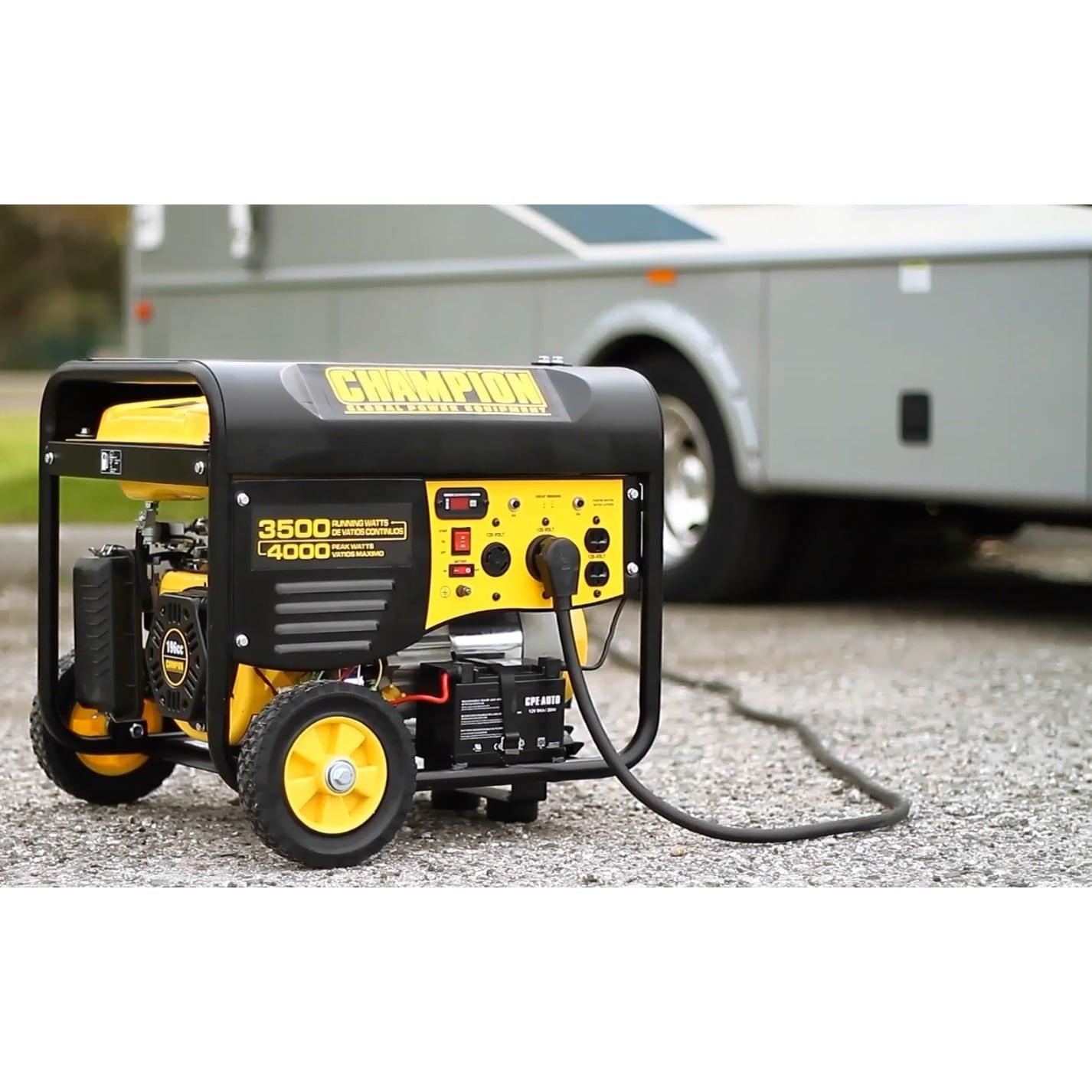 Champion Power Equipment Portable 3 500 Watt Generator with