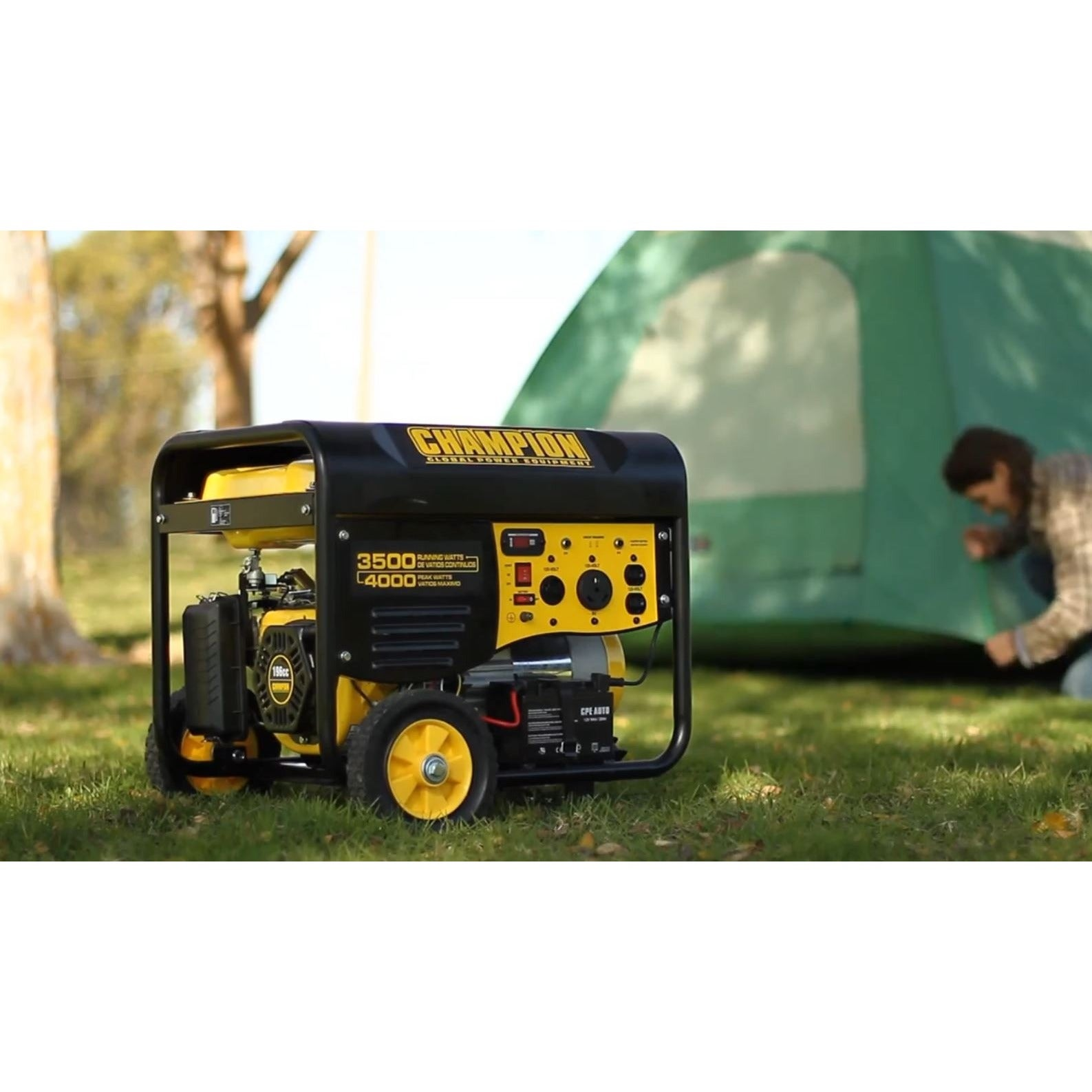 Champion 3500-W RV Ready Portable Generator w/Wireless Remote (EPA)