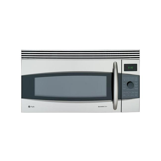 GE Profile Spacemaker Series JVM1790SK Stainless Steel 1.7 Cu Ft Over The