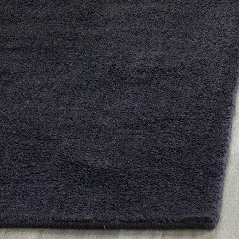 Safavieh Handmade Himalaya Solid Black Wool Rug On Free Shipping Today 7424317