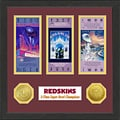 Washington Redskins NFL SB Ticket/Game Coin Frame