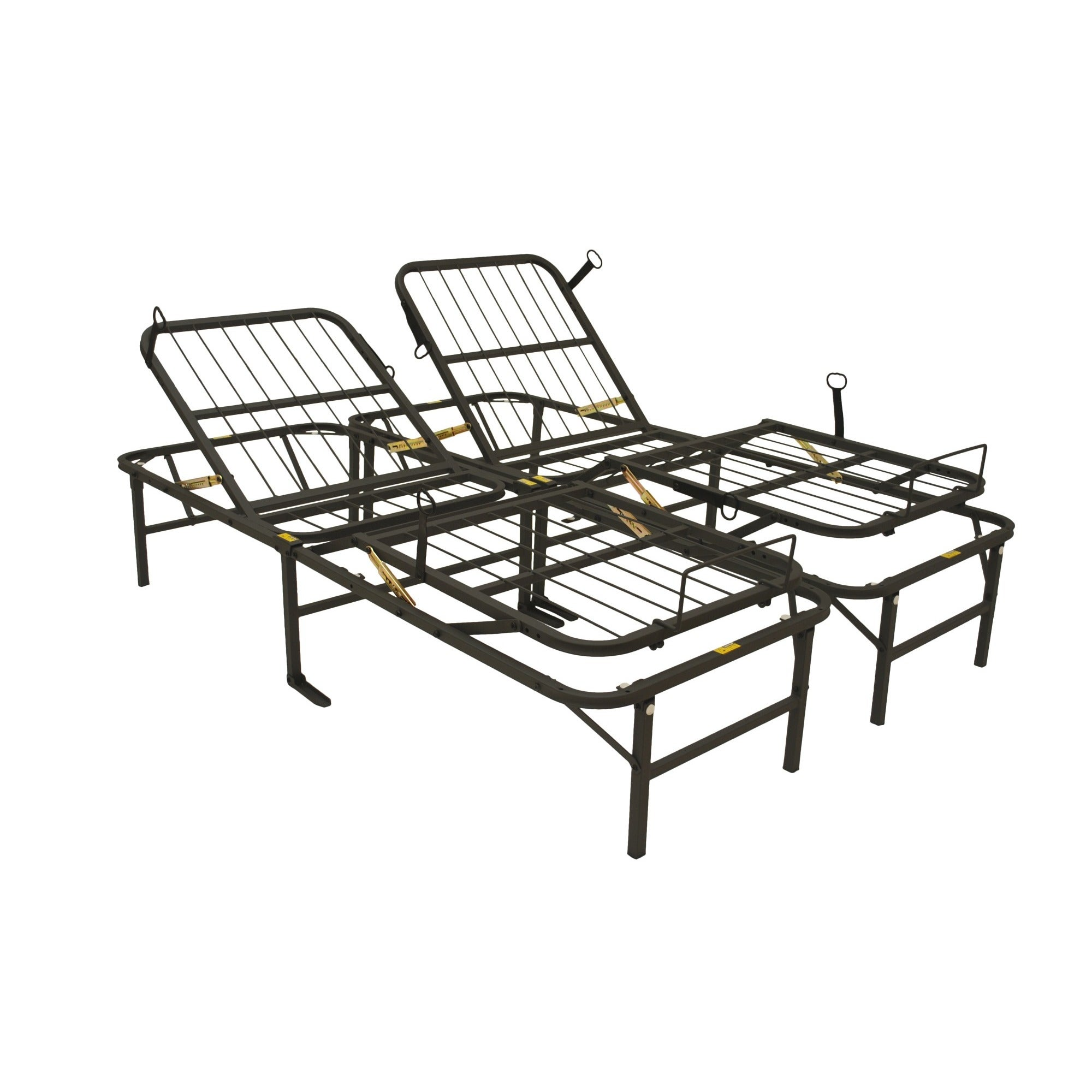 Shop Pragma Simple Adjust Head and Foot King-size Bed Frame - Free ...