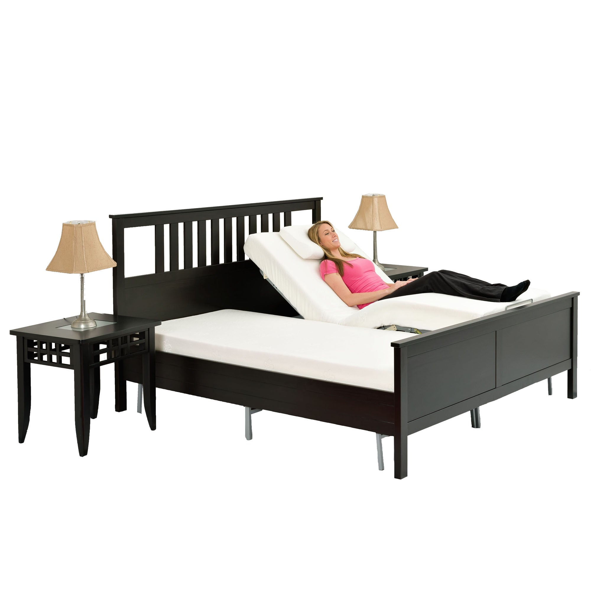 Shop Pragma Simple Adjust Head Only Queen Bed   Free Shipping