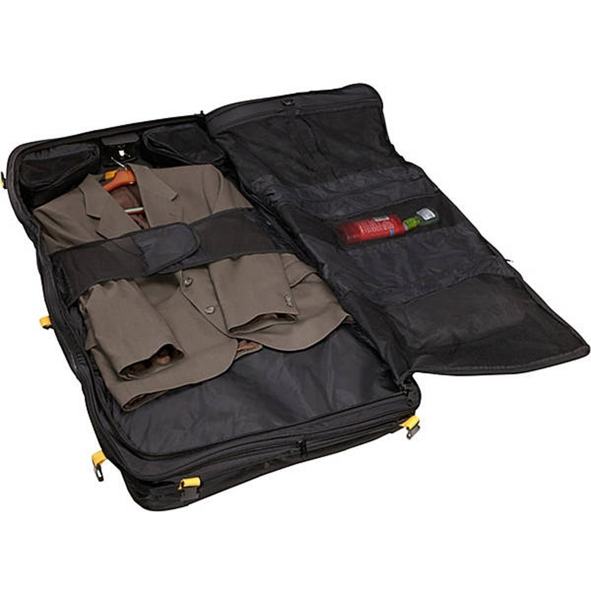 A Saks E X P N D B L Deluxe Tri Fold Carry On Garment Bag Free Shipping Today 7440427