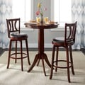 Simple Living Mahogany Finish 3-piece Anderson Pub Set