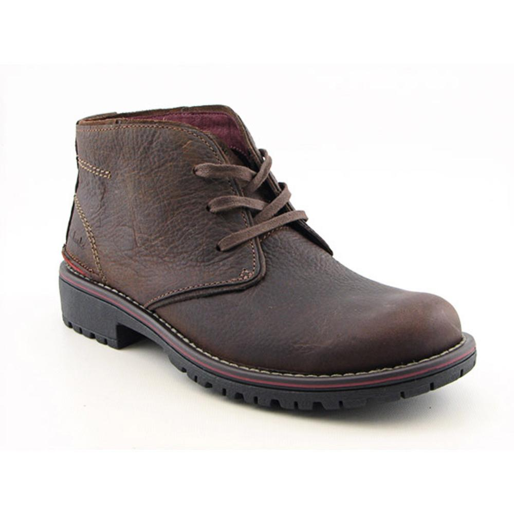Shop Clarks Men's 'Roar' Leather Boots - Free Shipping Today -  Overstock.com - 7464151