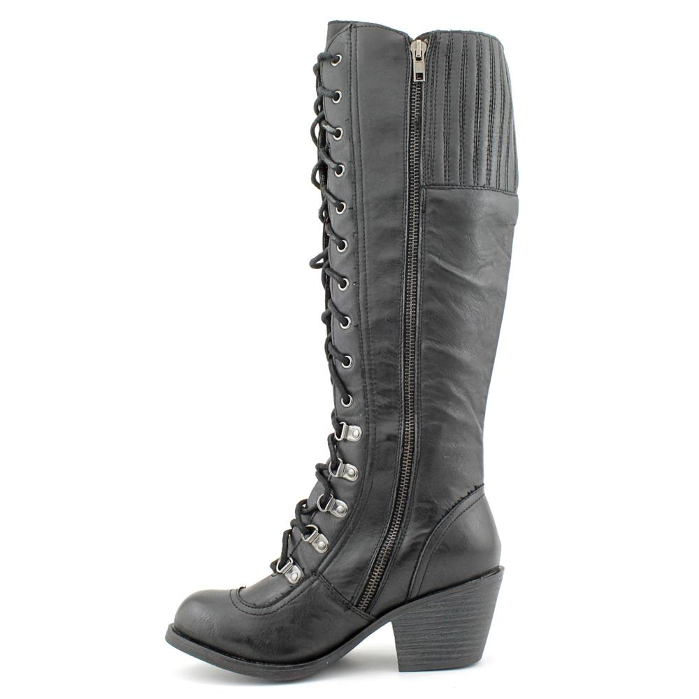 4f13adc2ca2 Shop Rocket Dog Women s  Rachel  Faux Leather Boots - Free Shipping Today -  Overstock - 7464153