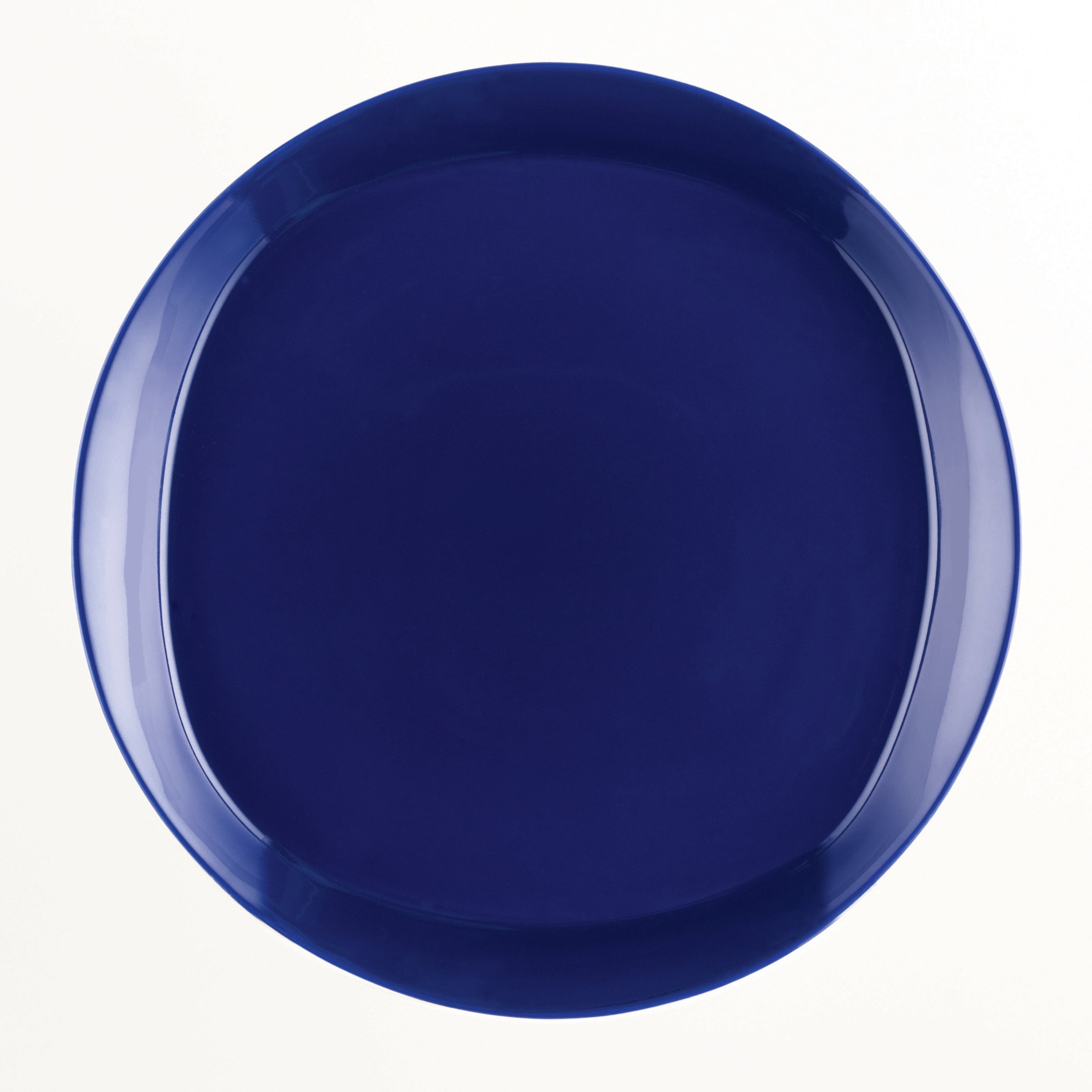 Rachael Ray u0027Round and Squareu0027 4-piece Blue Raspberry Dinner Plate Set - Free Shipping On Orders Over $45 - Overstock - 14916641 & Rachael Ray u0027Round and Squareu0027 4-piece Blue Raspberry Dinner Plate ...
