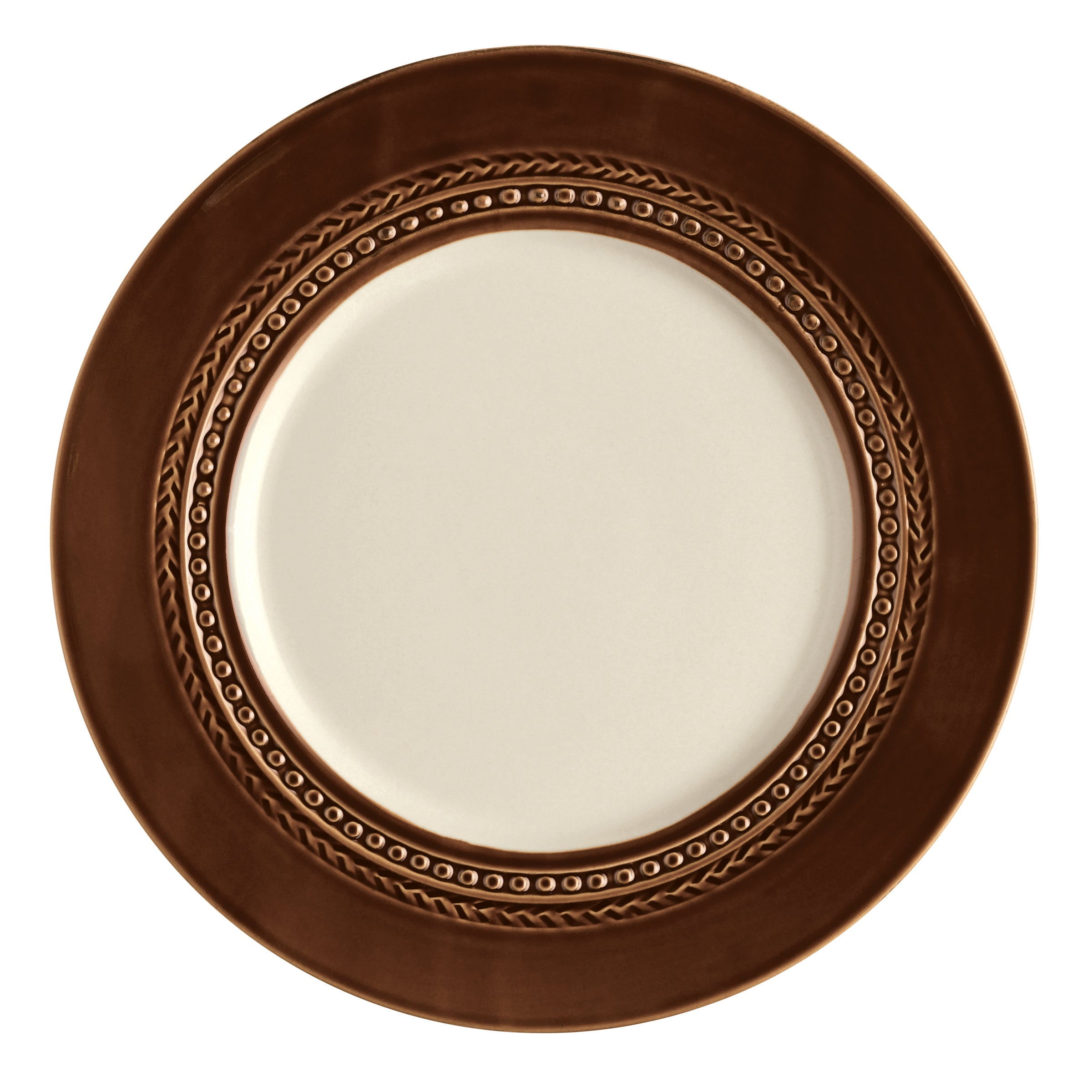Paula Deen Dinnerware 4-piece Dinner Plate Set-Southern Gathering Chestnut 11-inch - Free Shipping On Orders Over $45 - Overstock - 14916667  sc 1 st  Overstock & Paula Deen Dinnerware 4-piece Dinner Plate Set-Southern Gathering ...