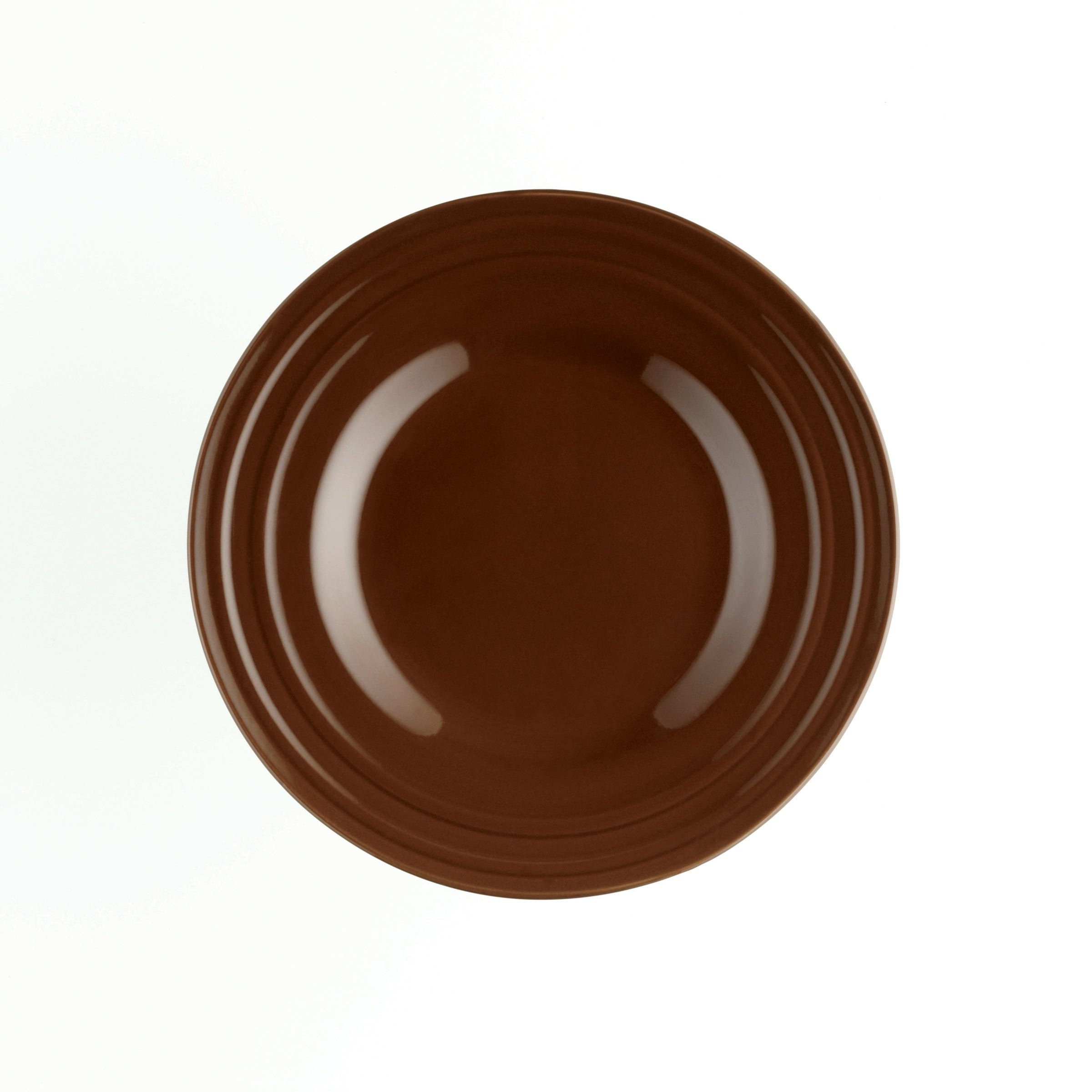 Rachael Ray Double Ridge Brown 8-inch Salad Plates (Set of 4) - Free Shipping On Orders Over $45 - Overstock - 14916695  sc 1 st  Overstock.com & Rachael Ray Double Ridge Brown 8-inch Salad Plates (Set of 4) - Free ...