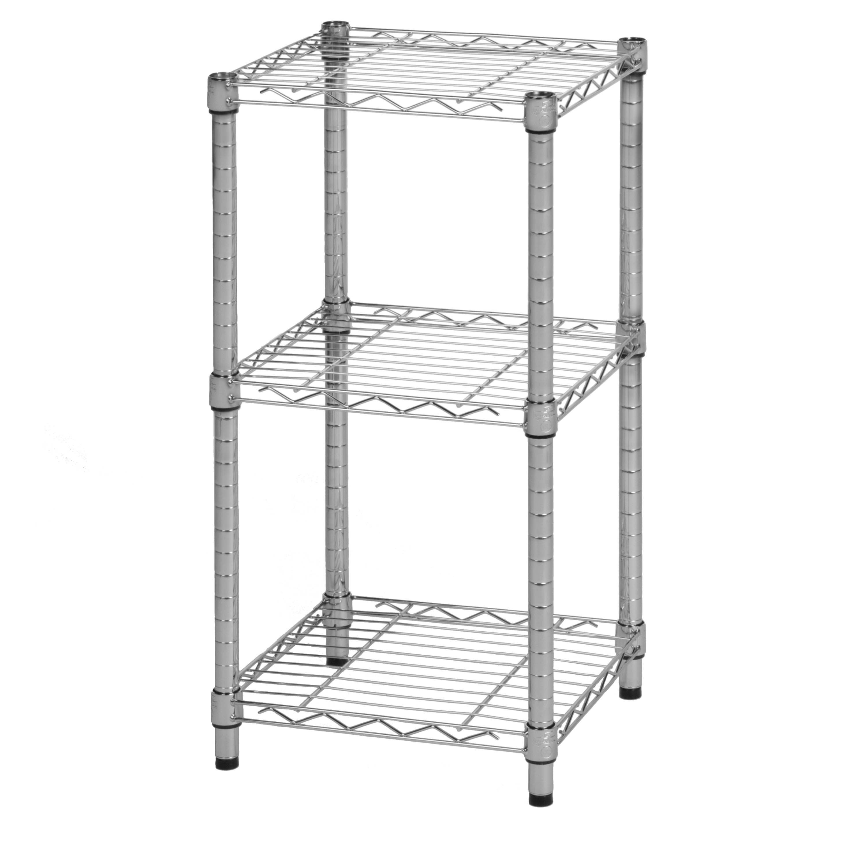 Shop Honey Can Do 3-tier Steel Wire Shelving Tower - On Sale - Free ...