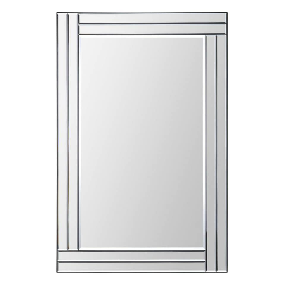 Shop Ren Wil Baton Rouge Step Frame Mirror - White - Free Shipping ...