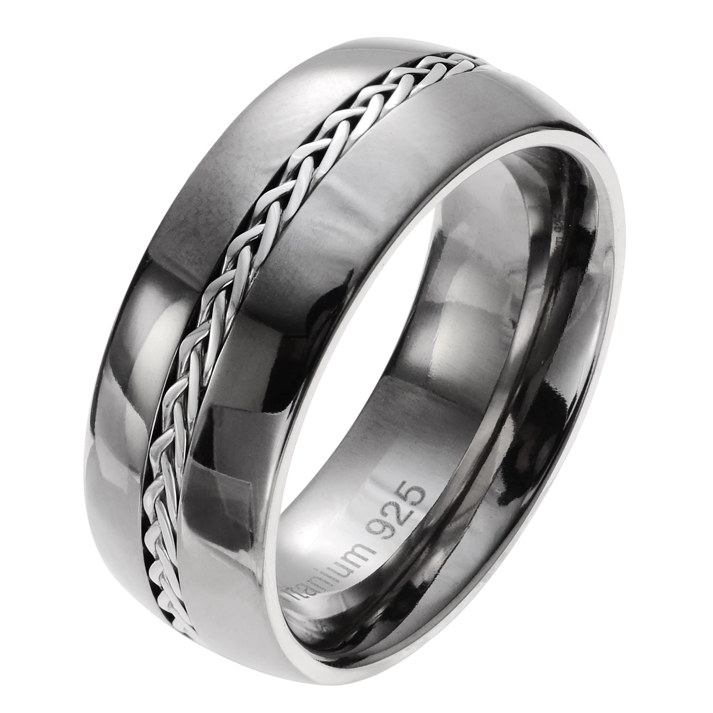 jewishbless black tungsten platinum carbide mens rings men com bands titanium band wedding extraordinary weddin