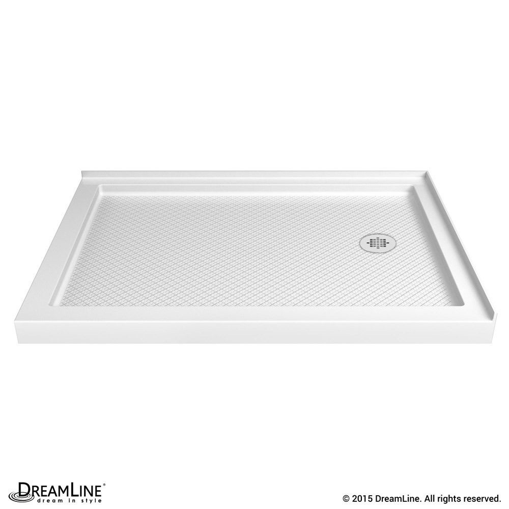 Dreamline Slimline 36 In By 48 Double Threshold Shower Base Free Shipping Today 7497514