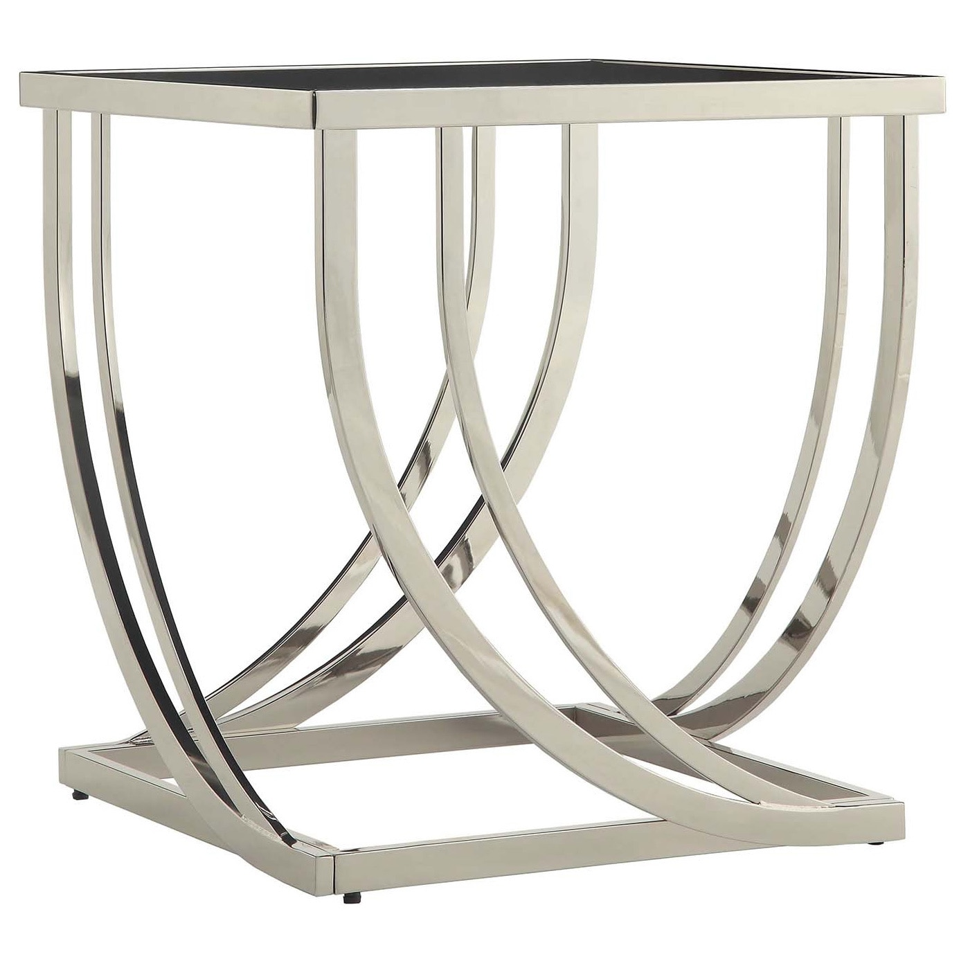 Anson Steel Brushed Arch Curved Modern 3-piece Occasional Set by iNSPIRE Q  Bold - Free Shipping Today - Overstock.com - 14944448