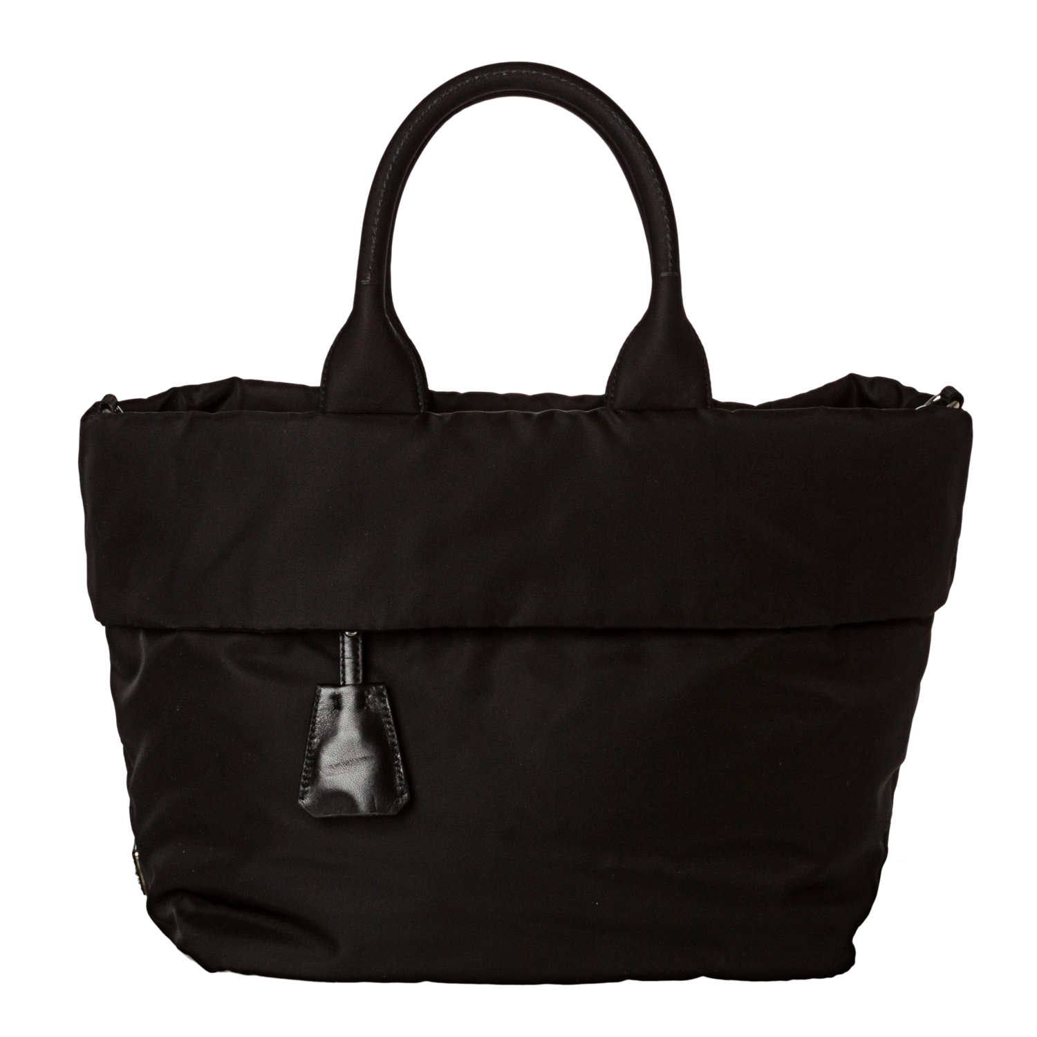 42c550f10f95 ... discount code for shop prada tessuto double black nylon reversible tote  bag free shipping today overstock ...