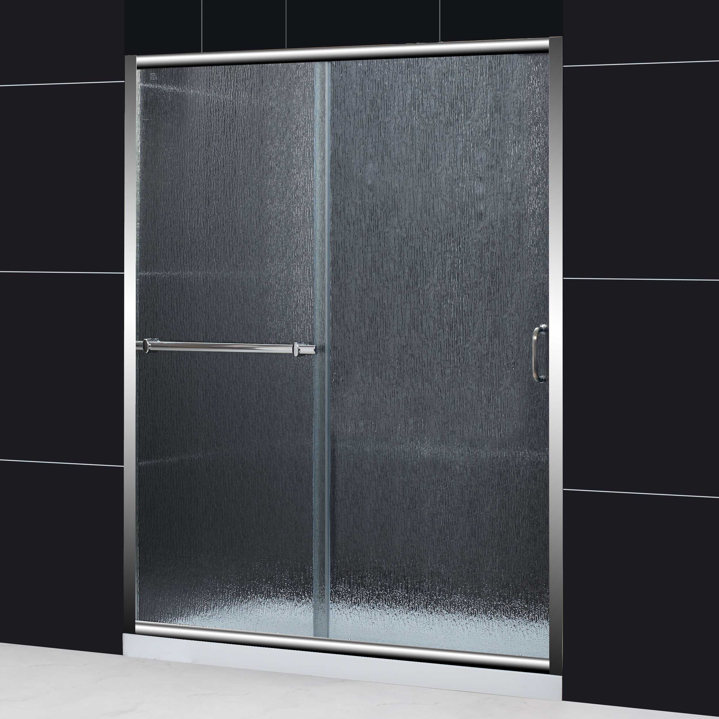shower in bypass garden duet today door home free frameless dreamline doors to product shipping sliding overstock