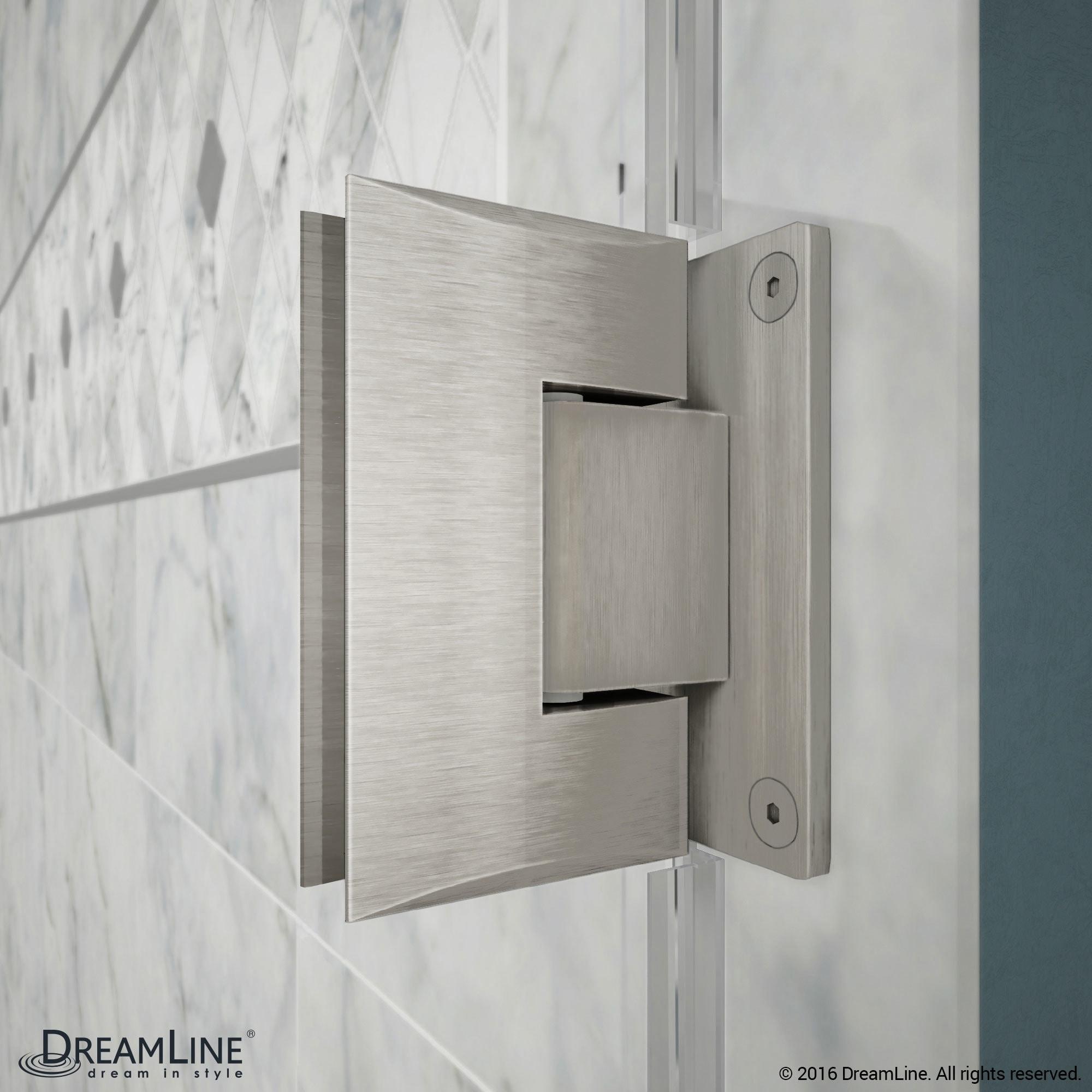 Shop Dreamline Unidoorlux Frameless Shower Door Free Shipping