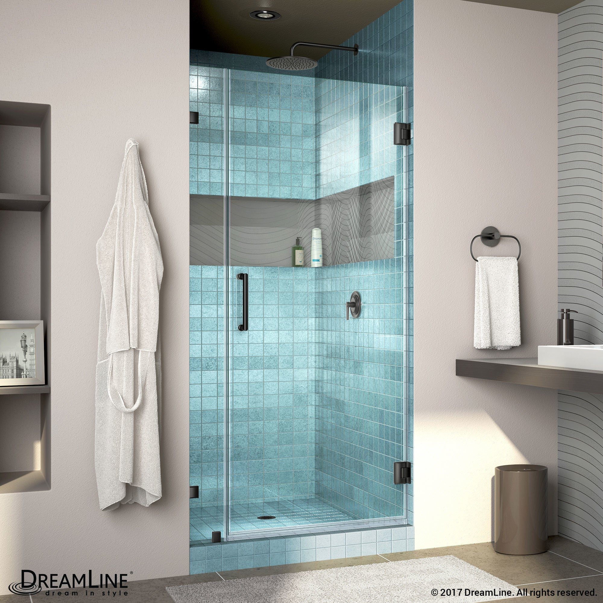 Shop DreamLine UnidoorLux Frameless Shower Door - Free Shipping ...