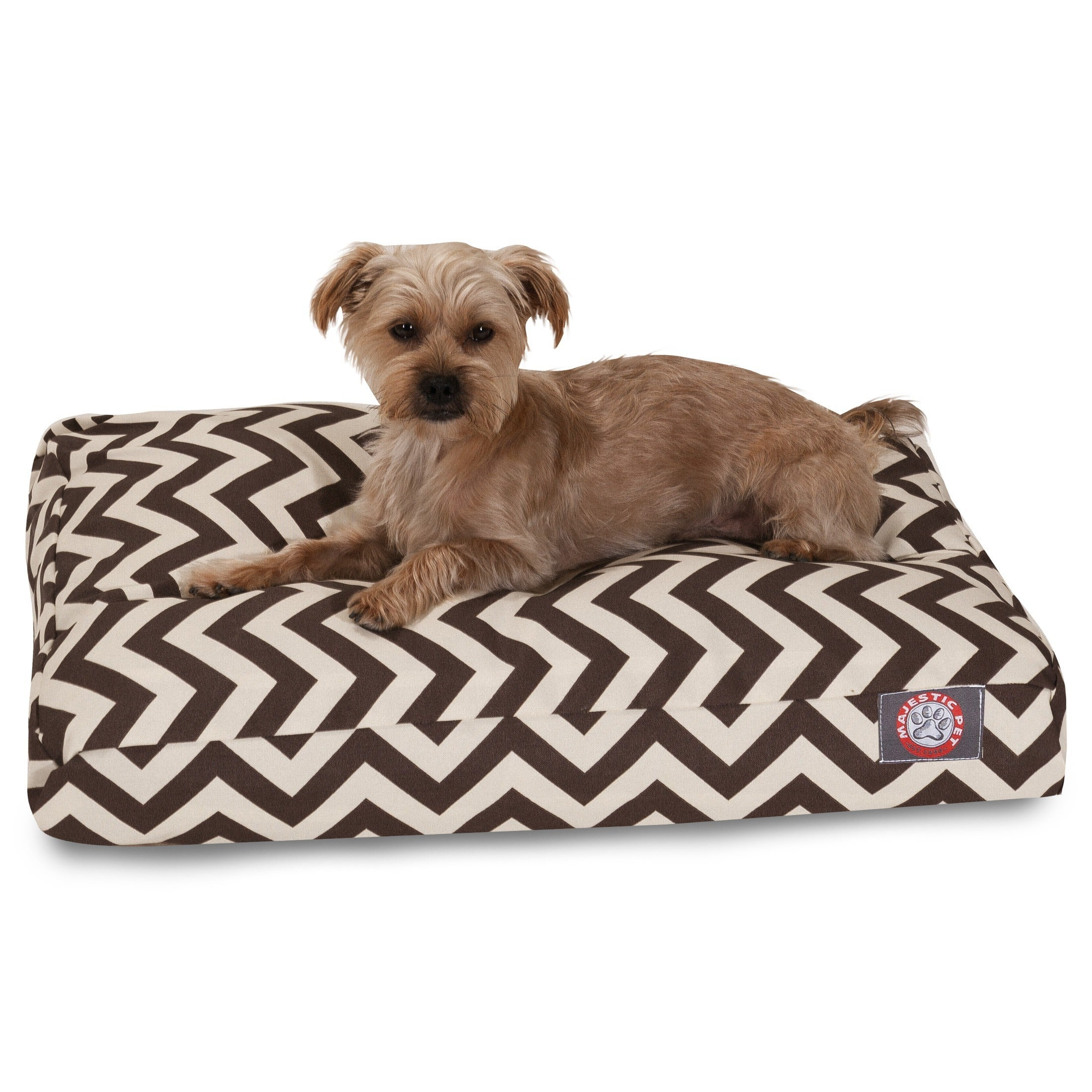 majestic pet beds. Shop Majestic Pet UV-treated Chevron Rectangle Dog Bed - On Sale Free Shipping Today Overstock.com 7515418 Beds S