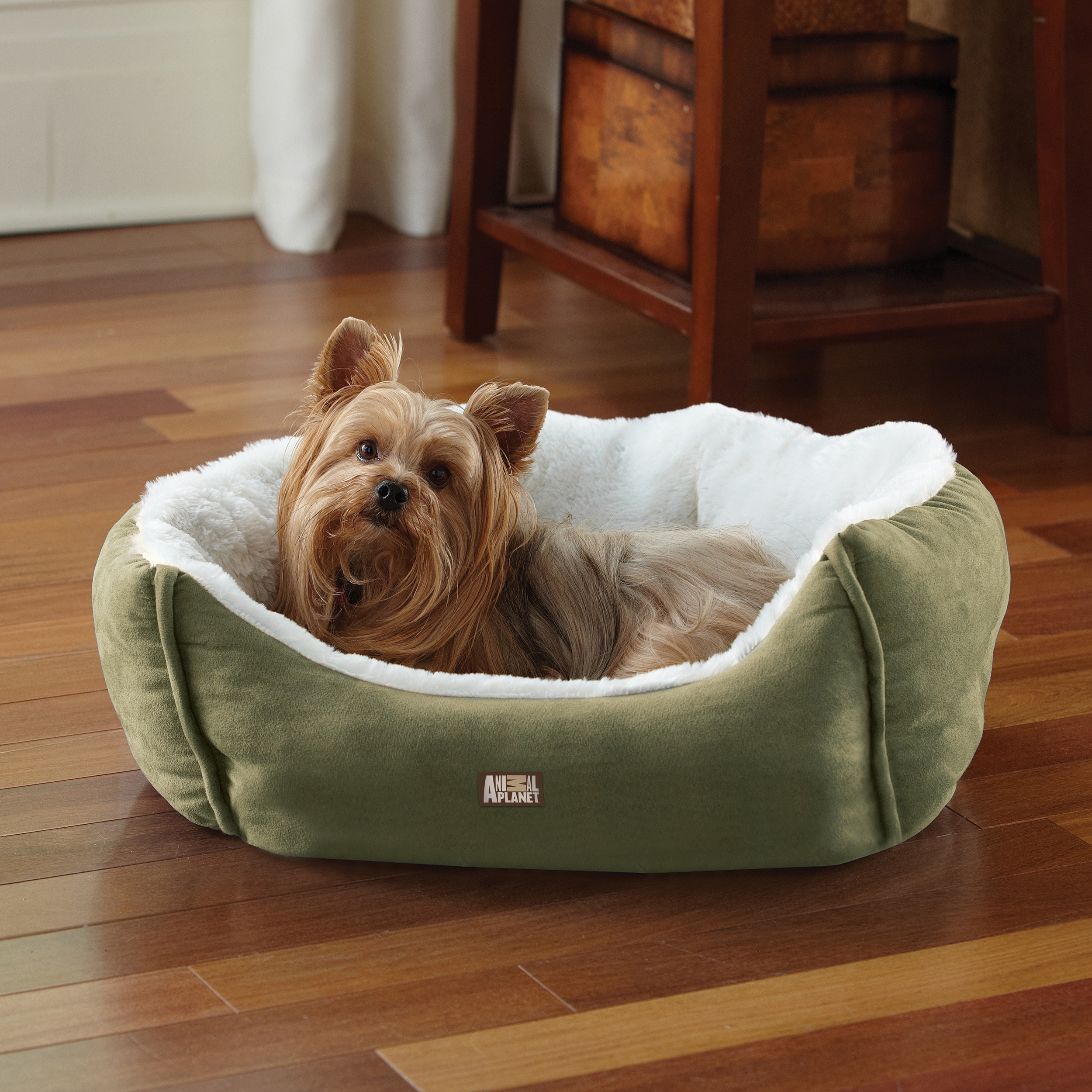 beds luxury cushion basket sentinel fleece dogs soft bunty large for dog warm pet medium logo fur washable bed itm polar