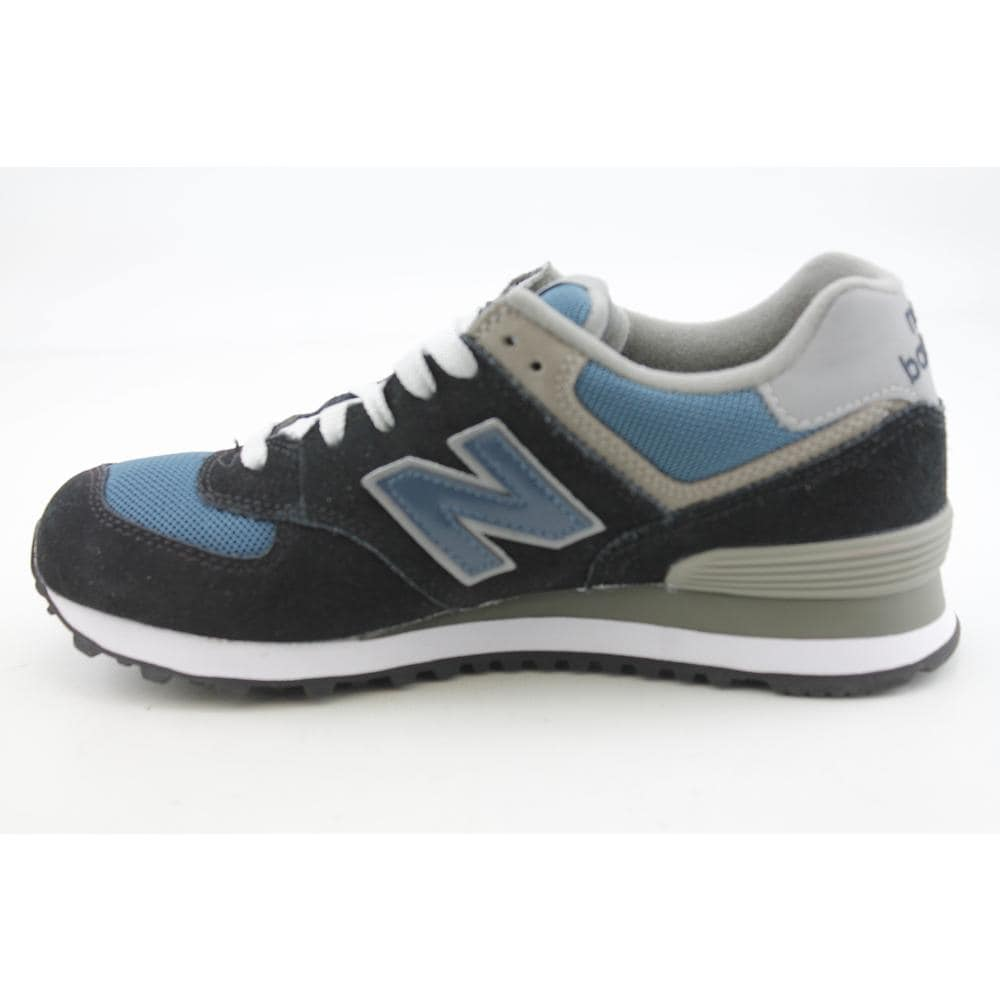 d04588b879bdd New Balance Men s  M574  Regular Suede Casual Shoes - Free Shipping Today -  Overstock - 14965550