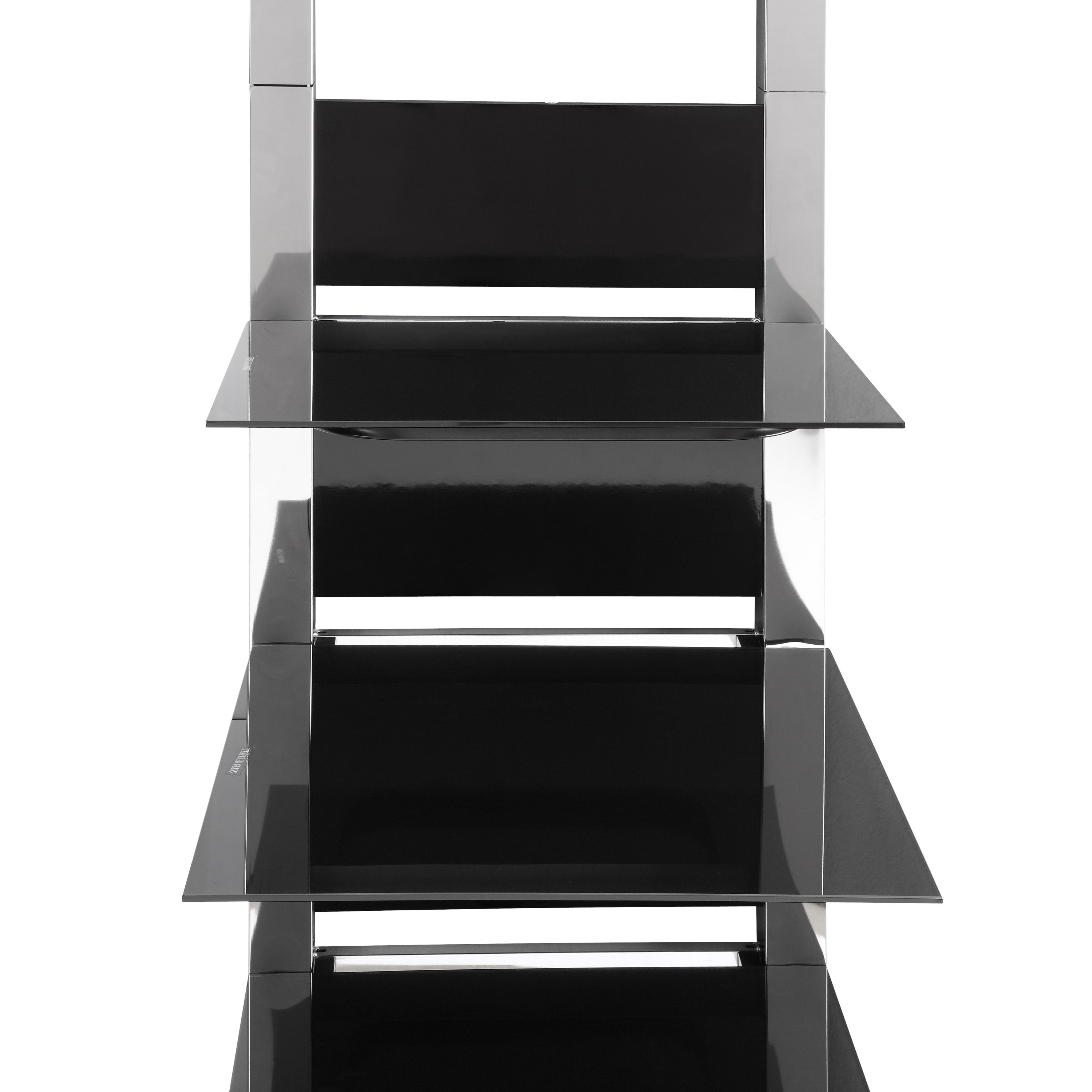 Shop Altramount Tv Stand In Glass Chrome Free Shipping Today