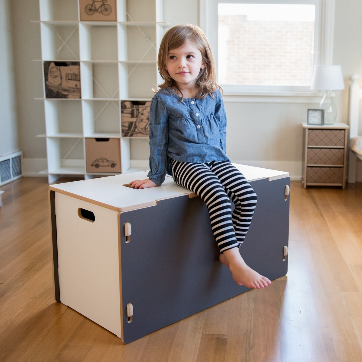 Shop Sprout Kidu0027s Wood Toy Box   On Sale   Free Shipping Today    Overstock.com   7535771