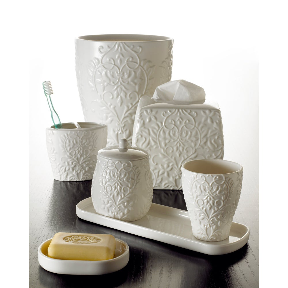 Shop Versaille Porcelain Bath Accessory Collection - Free Shipping ...