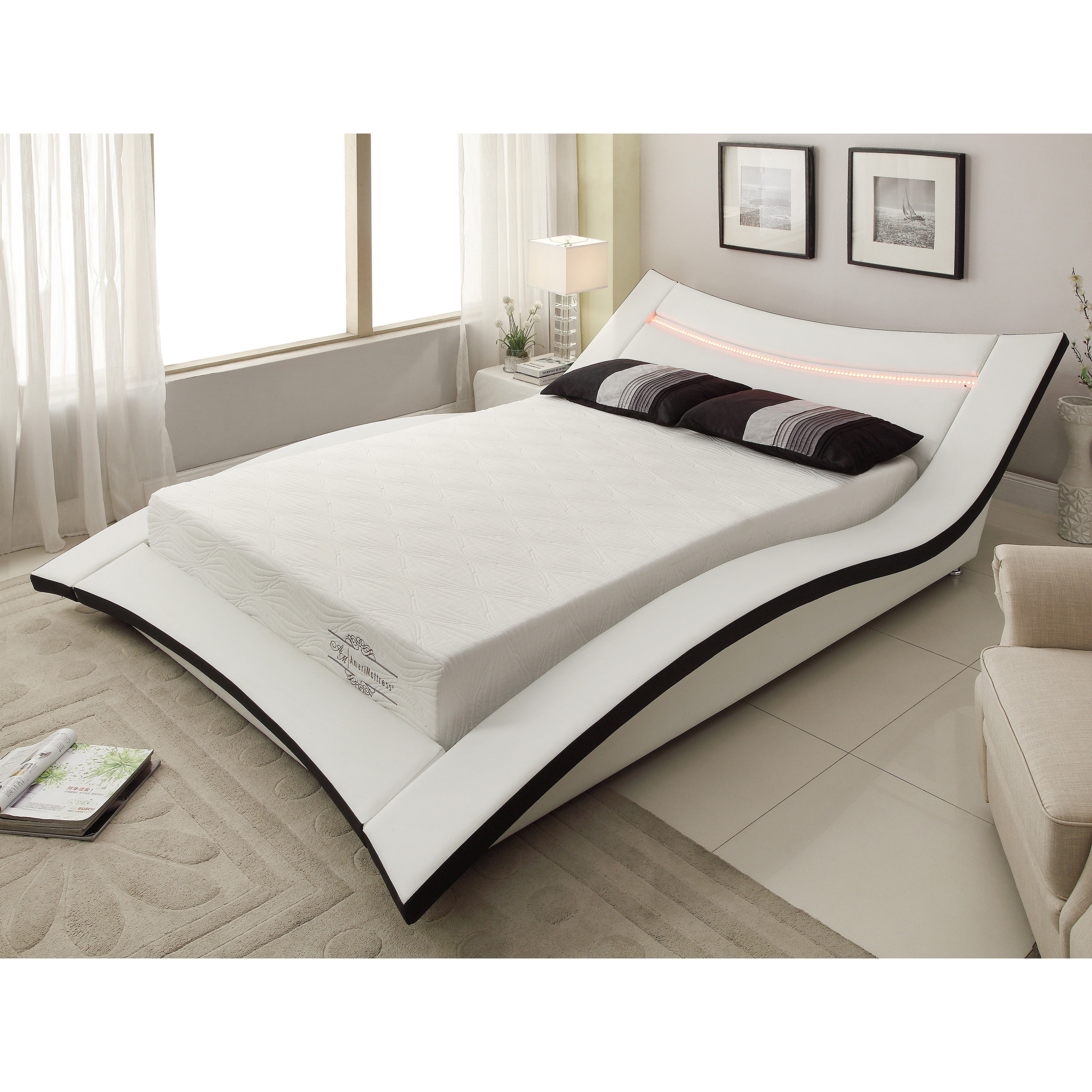 Shop 10 Inch Gel Memory Foam Mattress On Sale Free Shipping