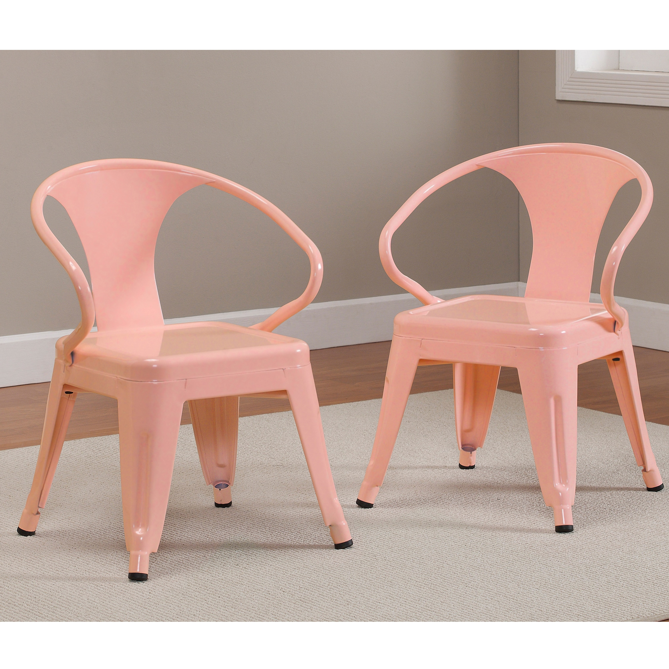 Brand new Kids Tabouret Stacking Chairs (Set of 2) - Free Shipping Today  FN84