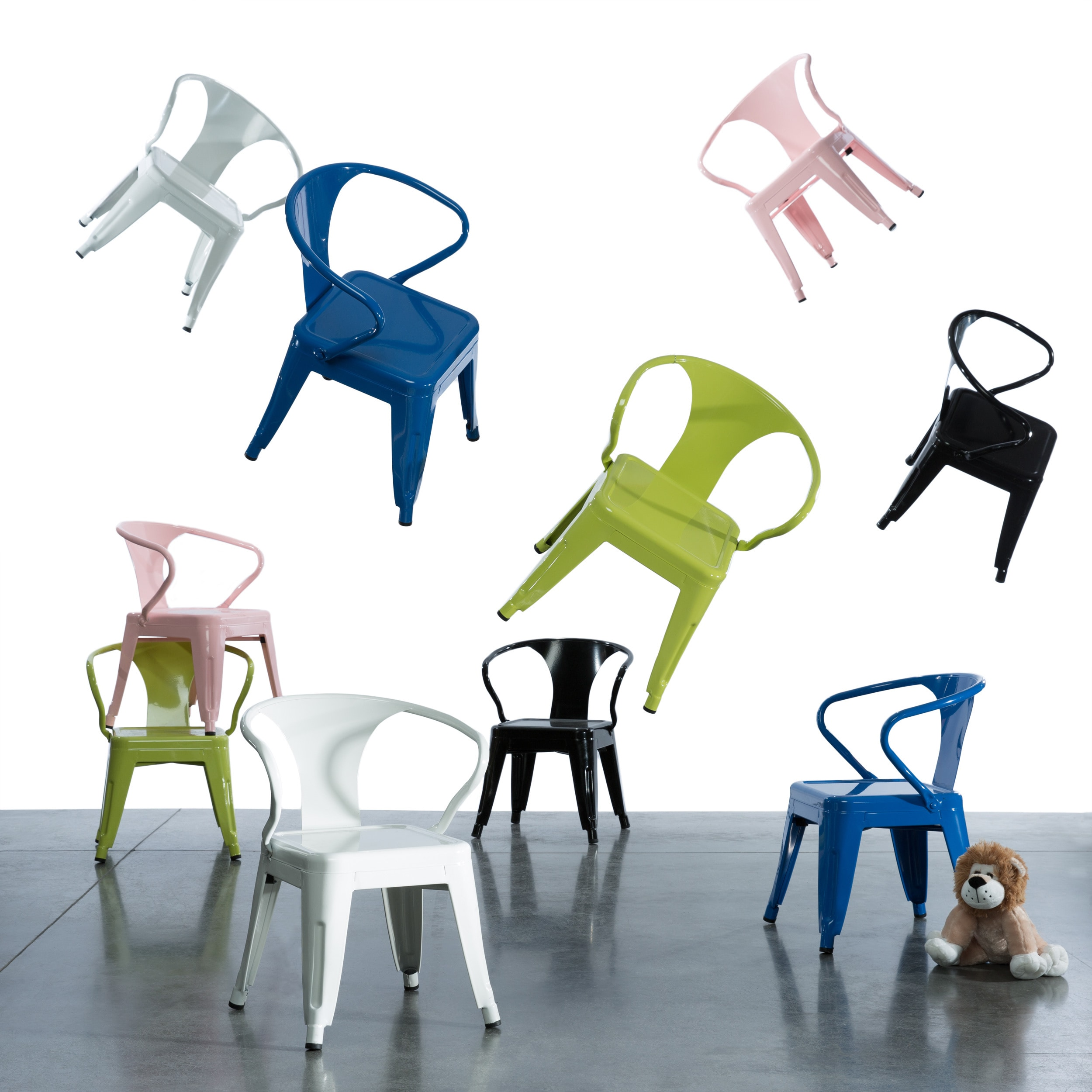 Shop Kids Tabouret Stacking Chairs (Set Of 2)   Free Shipping Today    Overstock.com   7538509